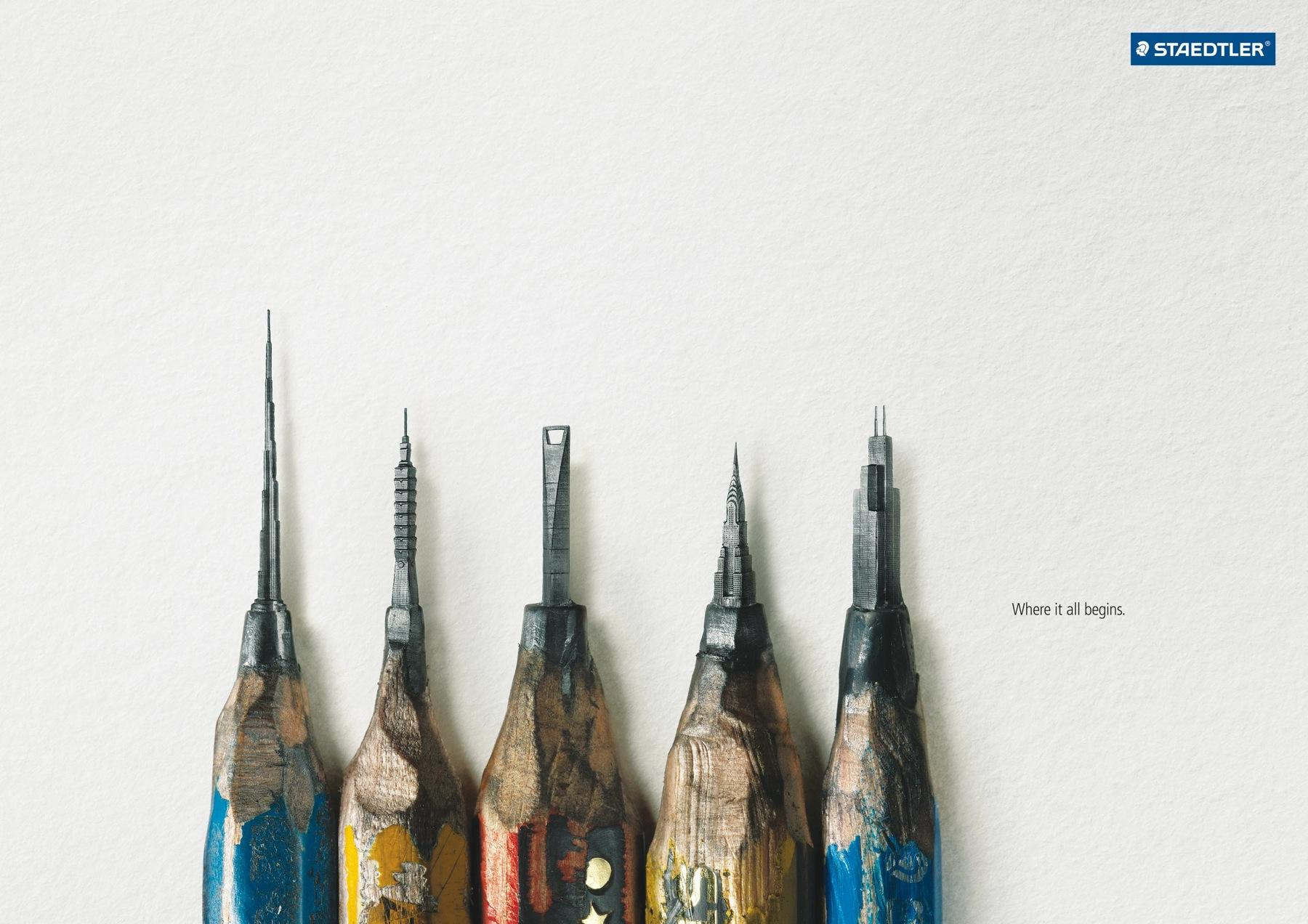 Staedtler Outdoor Ad -  Architecture