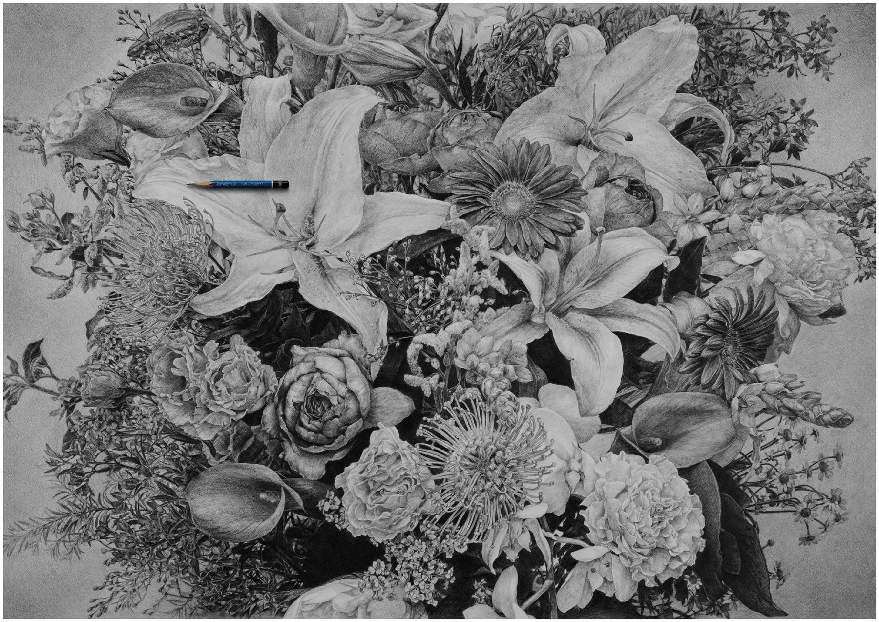 Staedtler Print Ad -  Flower