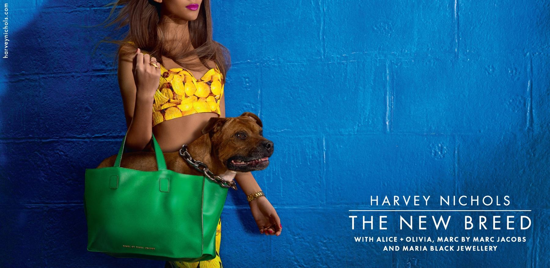 Harvey Nichols Outdoor Ad -  Staff