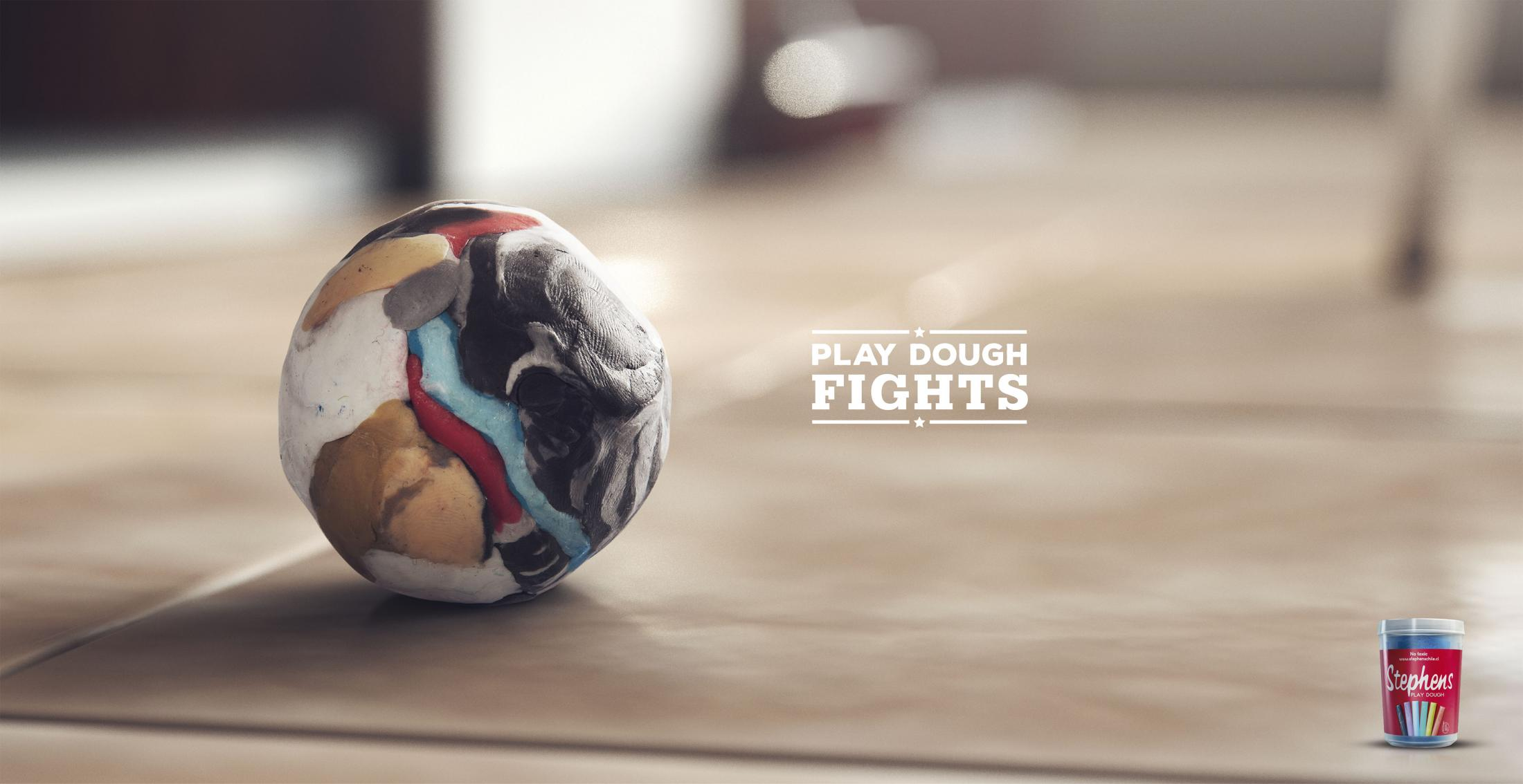 Stephens Print Ad - Play Dough Fights, 3