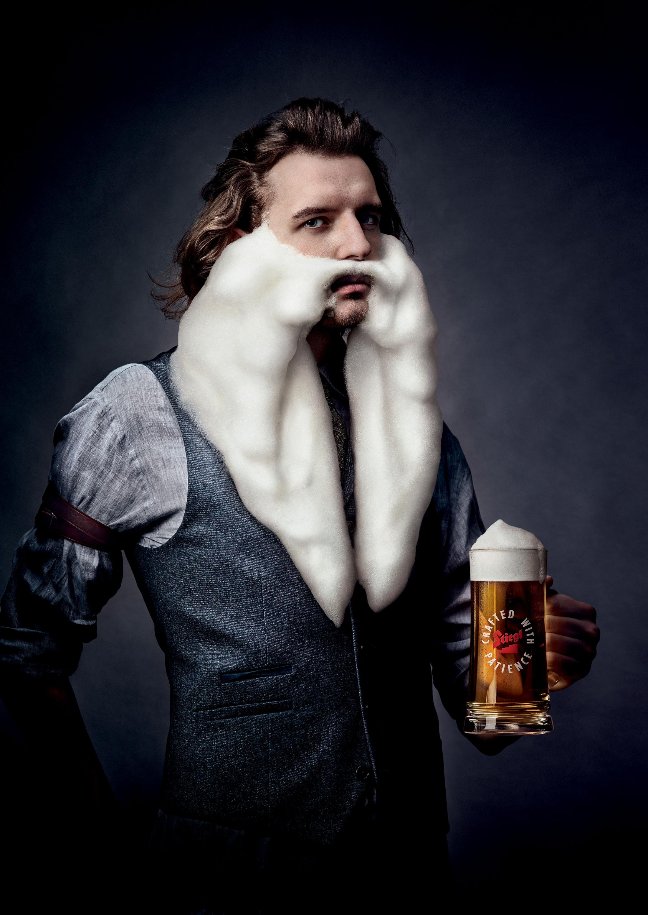 Stiegl Print Ad - Crafted with Patience, 1