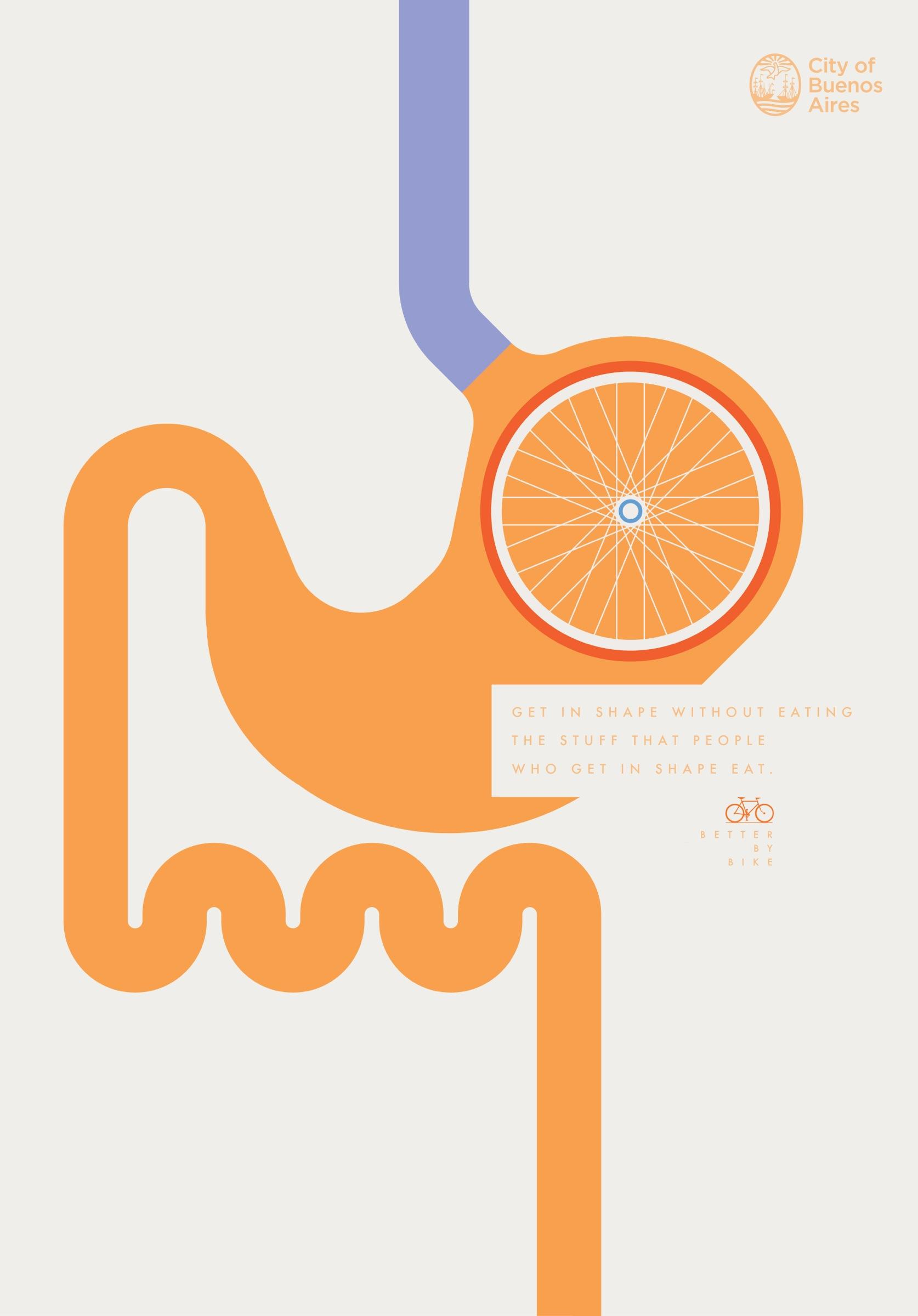 City of Buenos Aires Print Ad -  Stomach