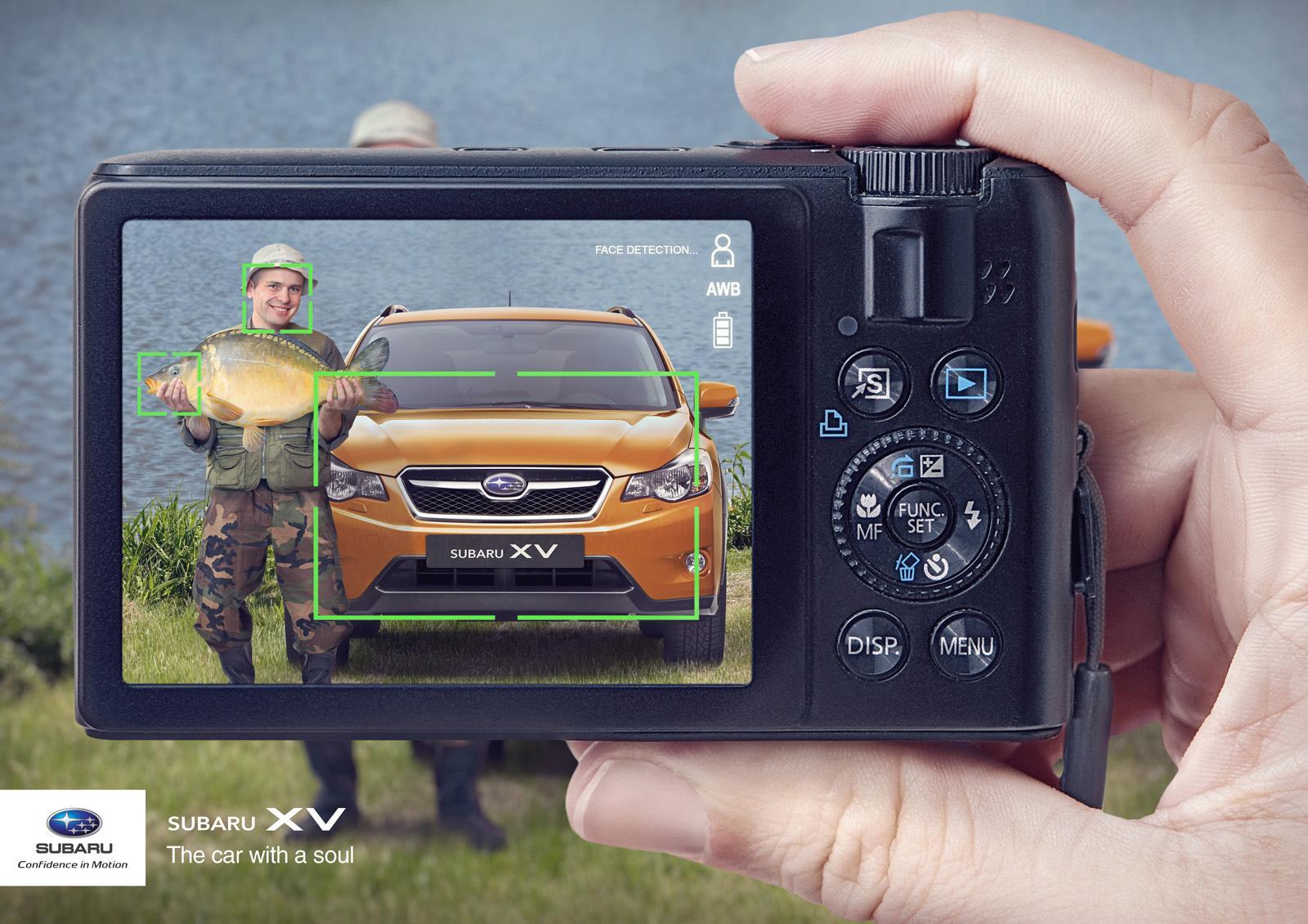 Subaru Print Ad -  Faces, 3