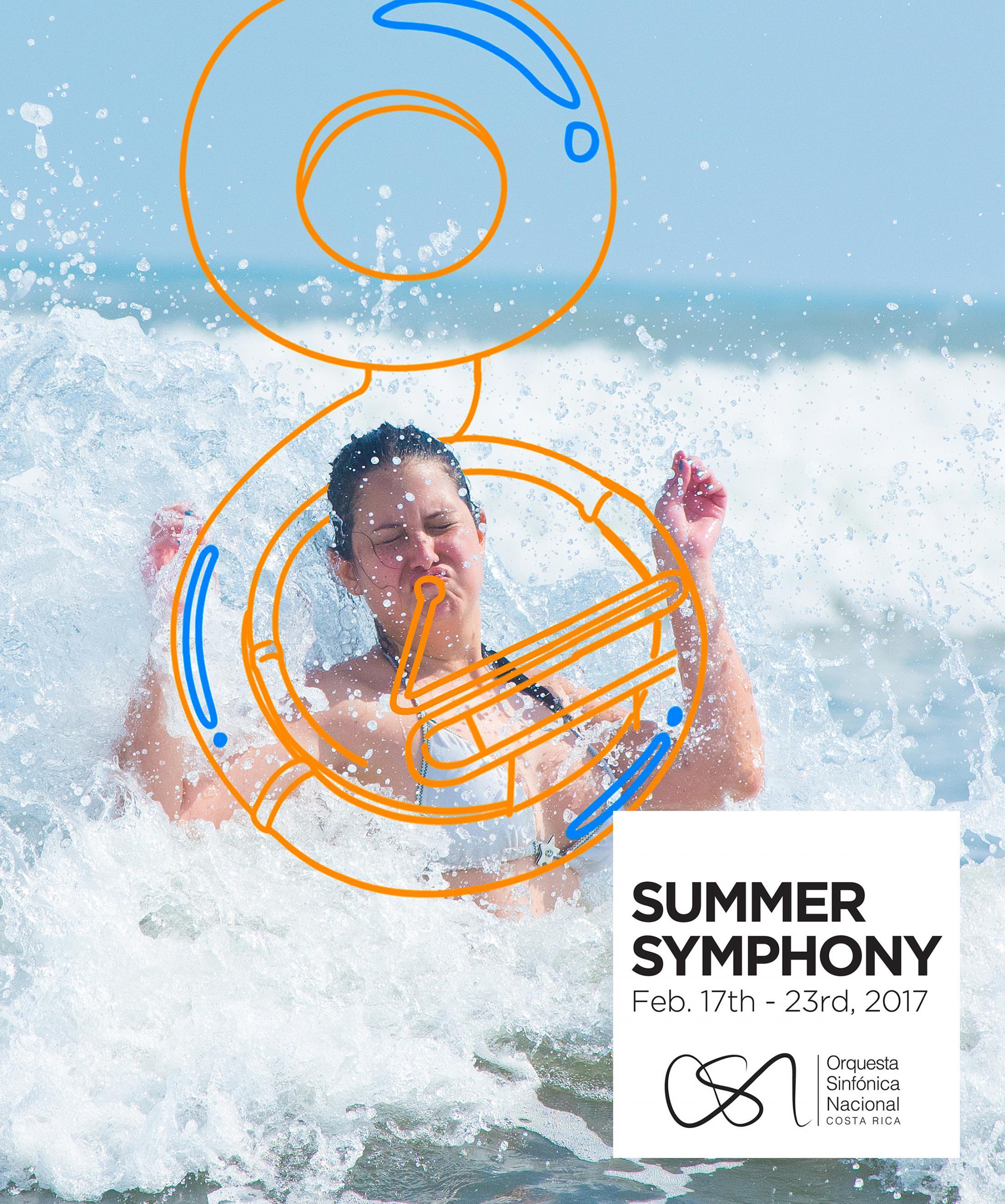Orquesta Sinfónica Nacional Outdoor Ad - Summer Symphony - Tuba