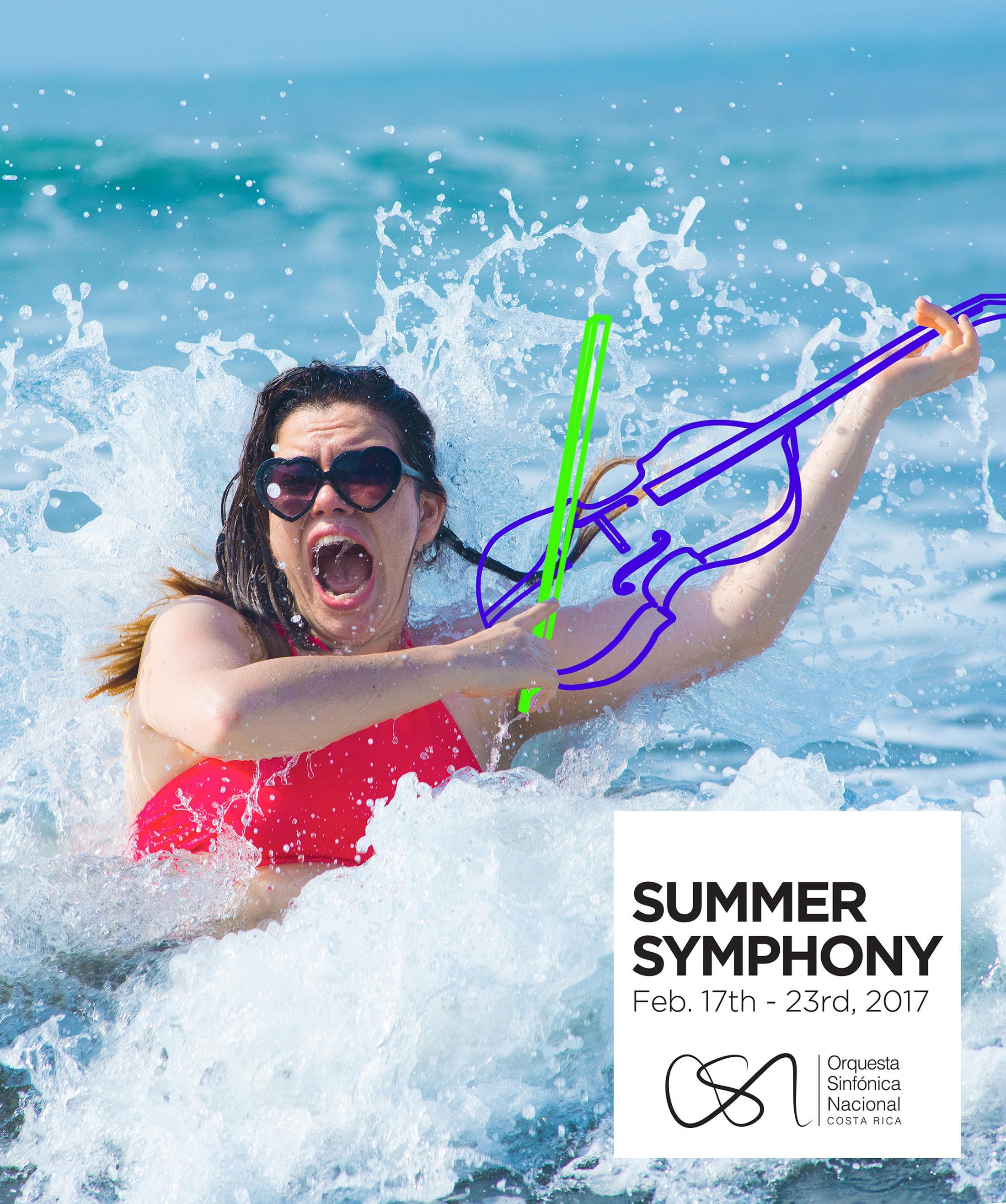 Orquesta Sinfónica Nacional Outdoor Ad - Summer Symphony - Violin
