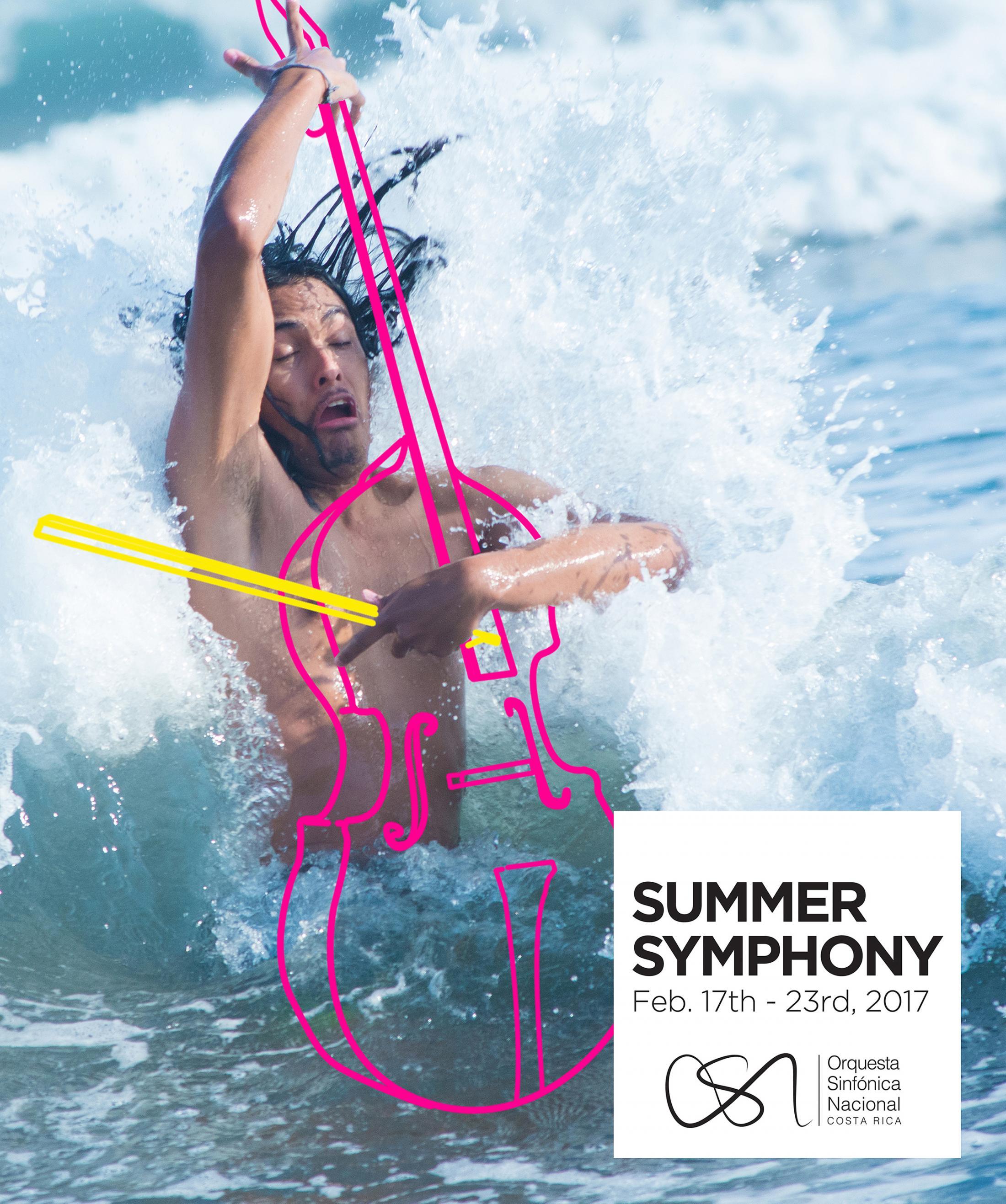 Orquesta Sinfónica Nacional Outdoor Ad - Summer Symphony - Violoncello