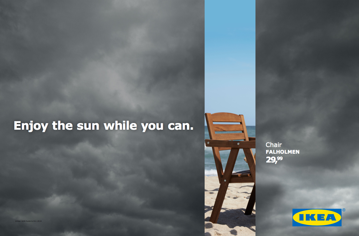 IKEA Outdoor Ad - Don't Miss the Summer, 2
