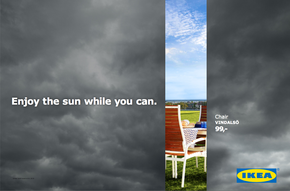 IKEA Outdoor Ad - Don't Miss the Summer