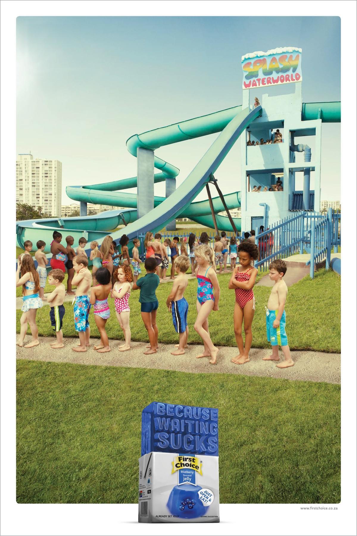 First Choice Jelly Print Ad -  Supertube