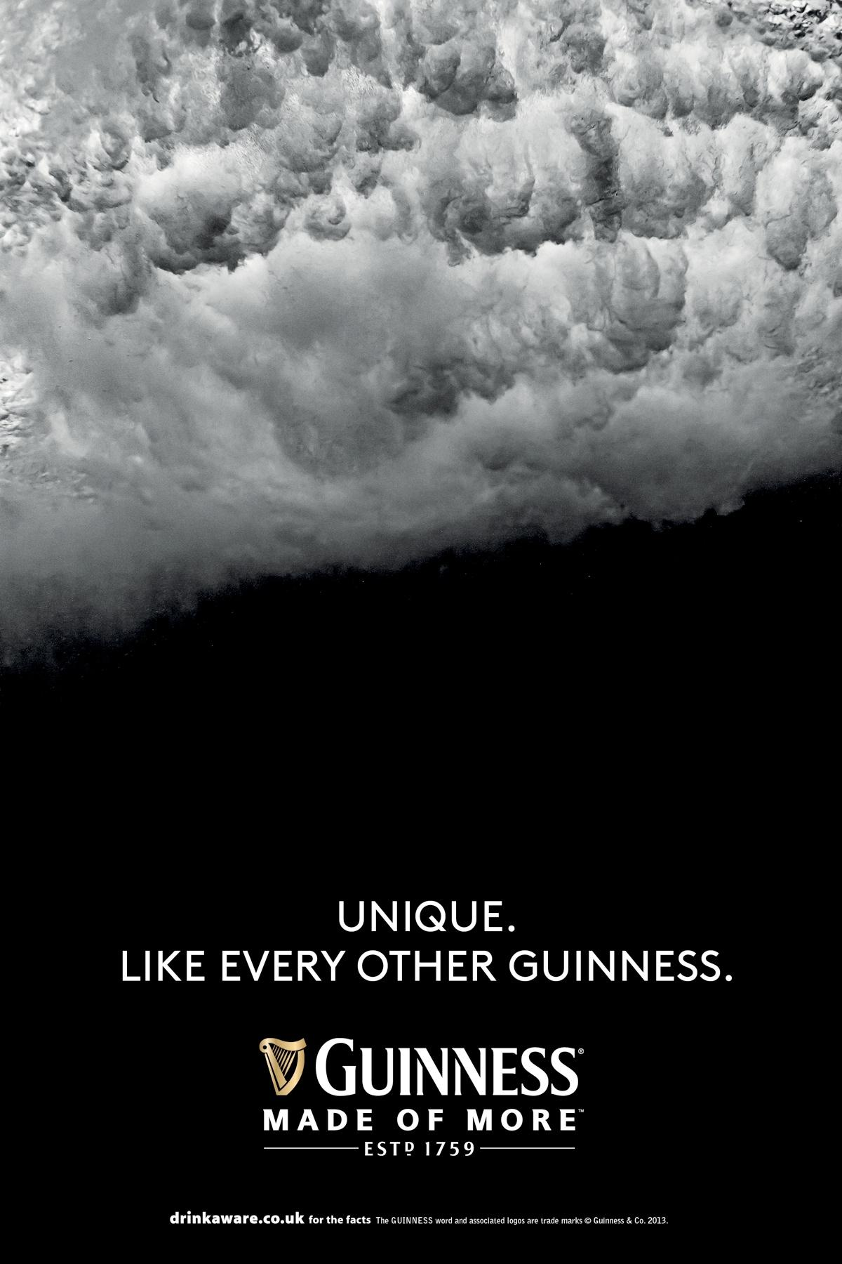 Guinness Print Ad -  Surge, 1