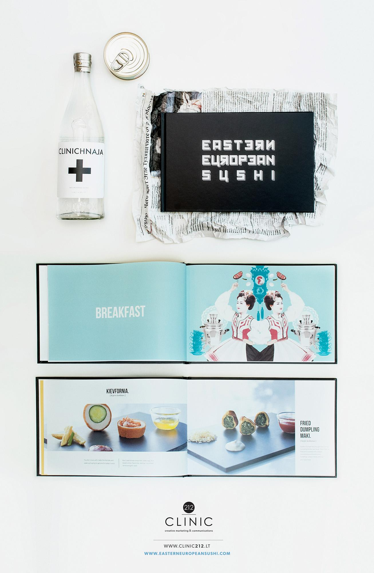 CLINIC 212 Print Ad -  Eastern European Sushi