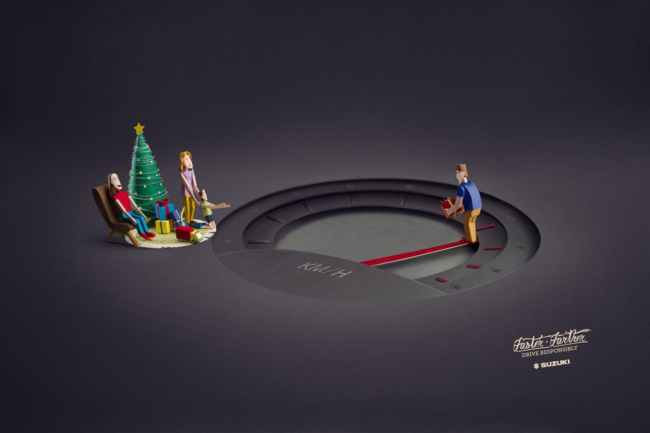 Suzuki Print Ad -  Christmas