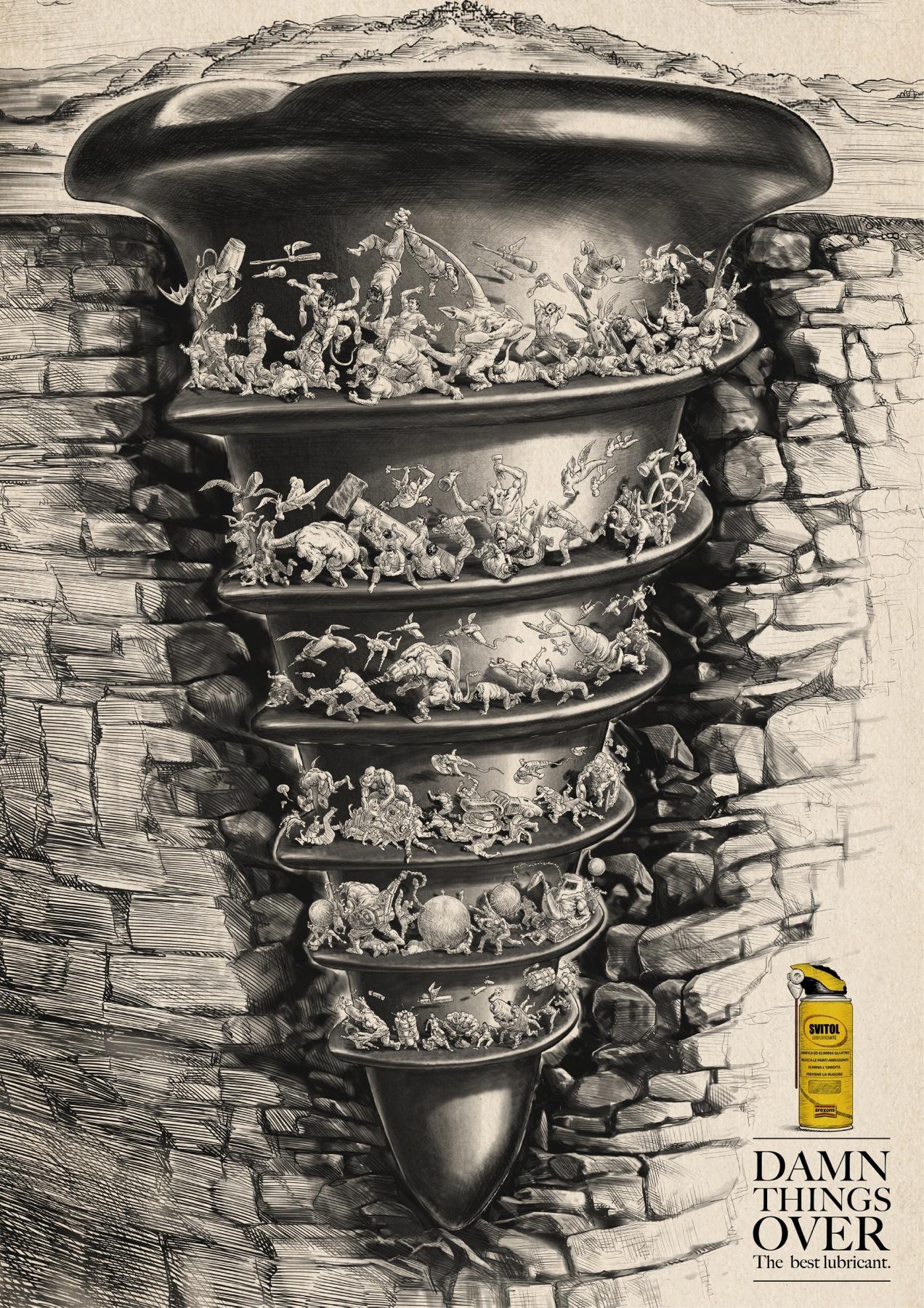 Svitol Print Ad -  Bricolage's hell