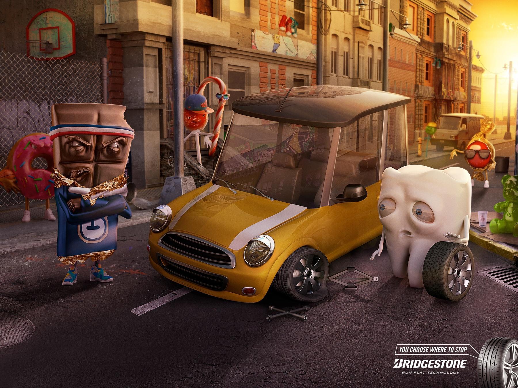 Bridgestone Print Ad -  SweetSuburb
