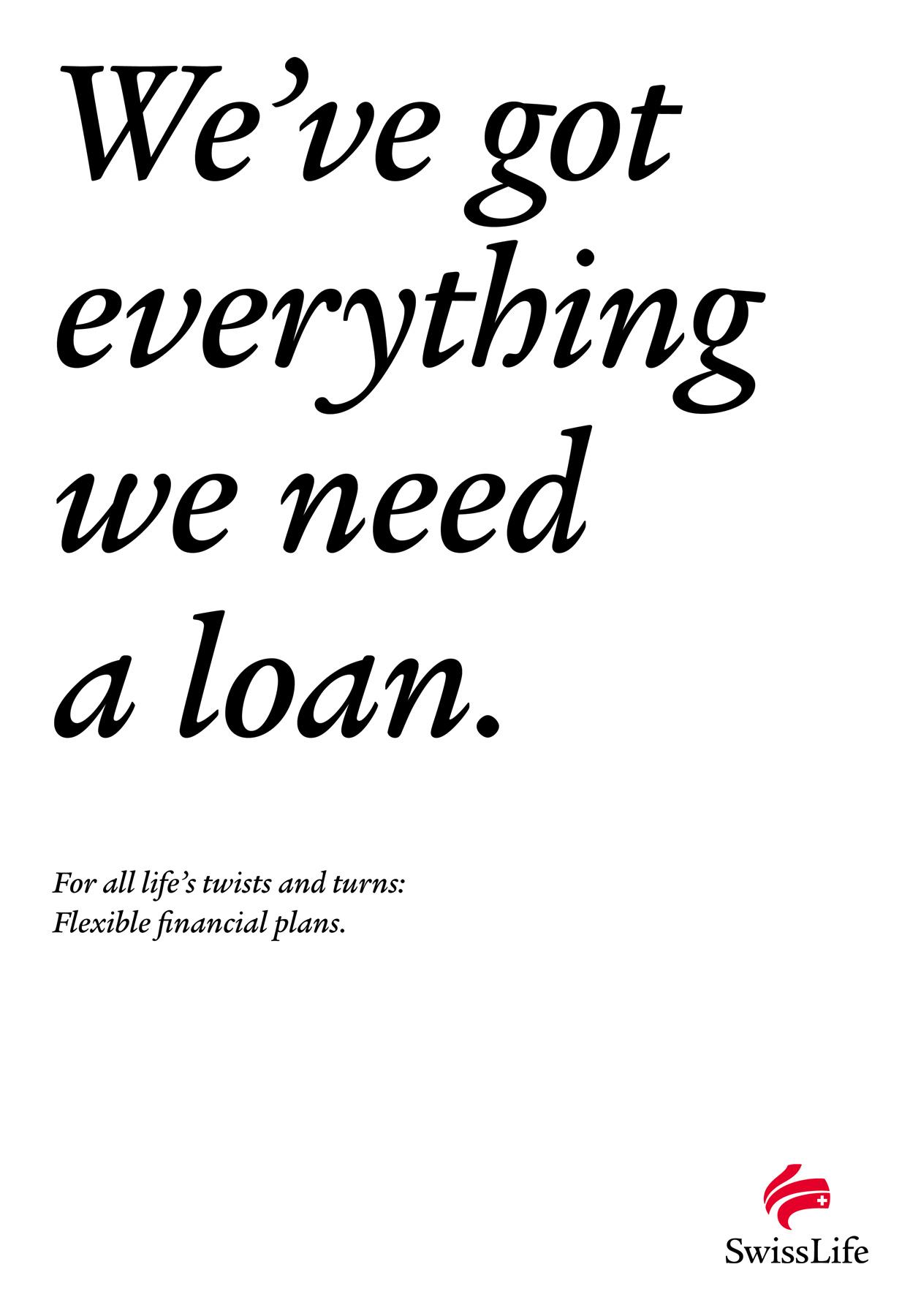 Swiss Life Print Ad -  Life's Turns In A Sentence, 7