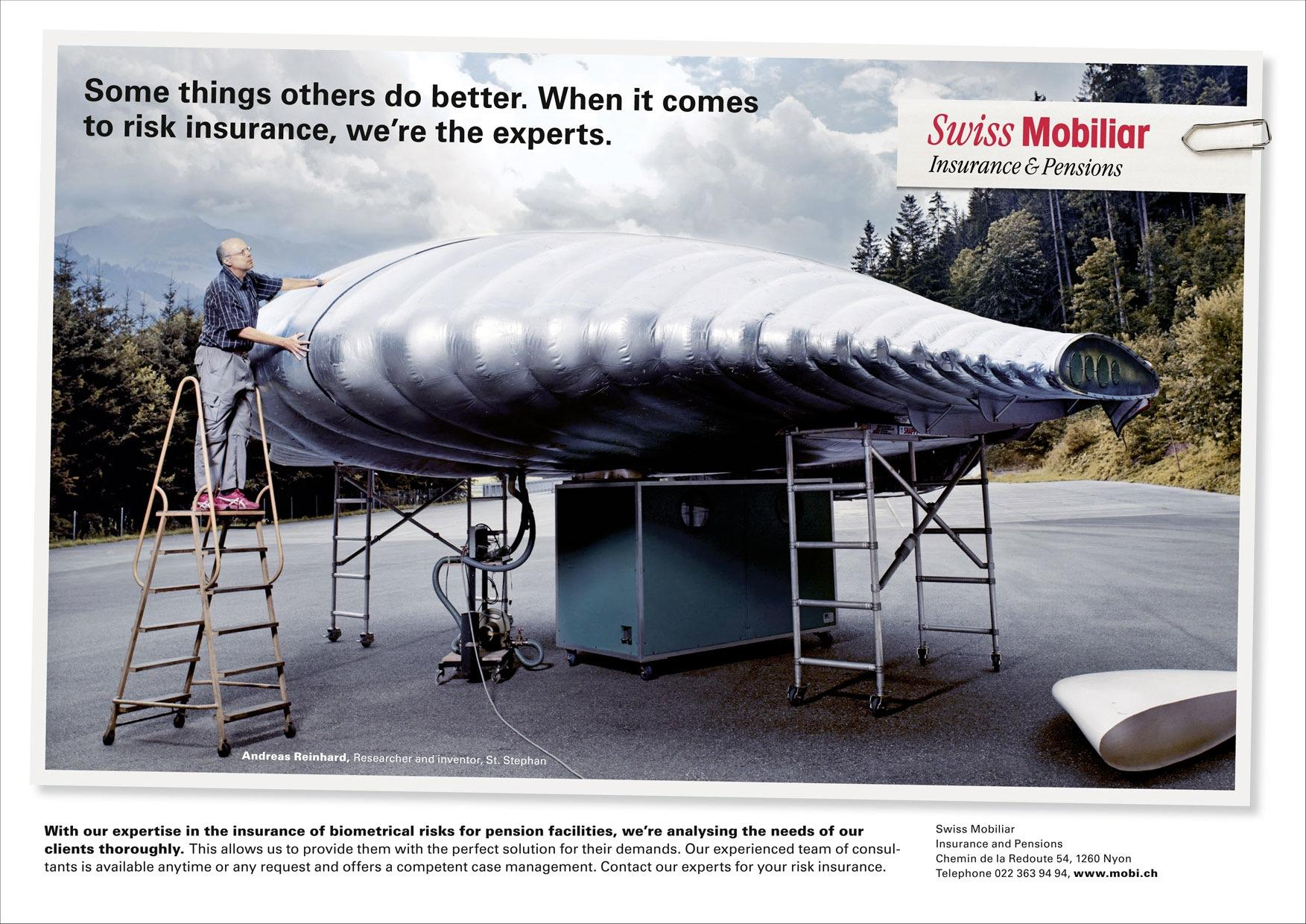 Swiss Mobiliar Print Ad -  Risk, 3