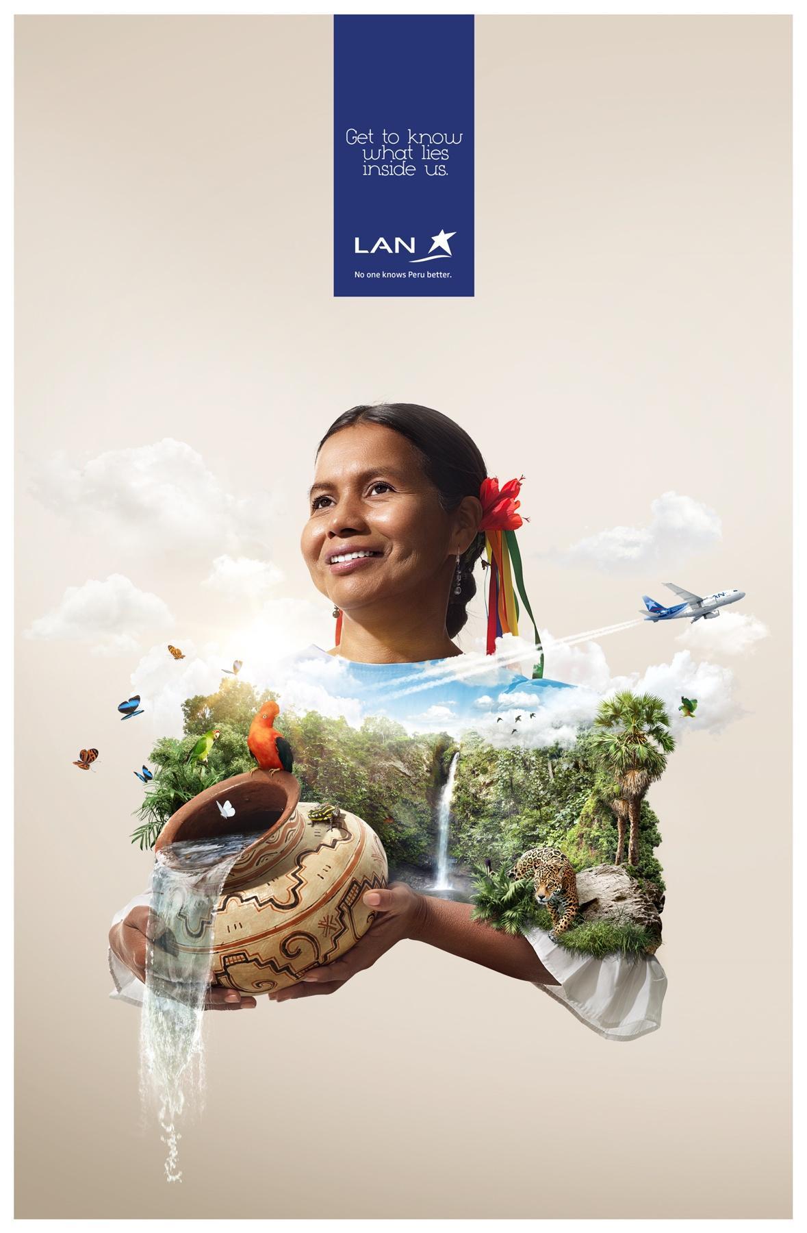 LAN Print Ad -  Tarapoto