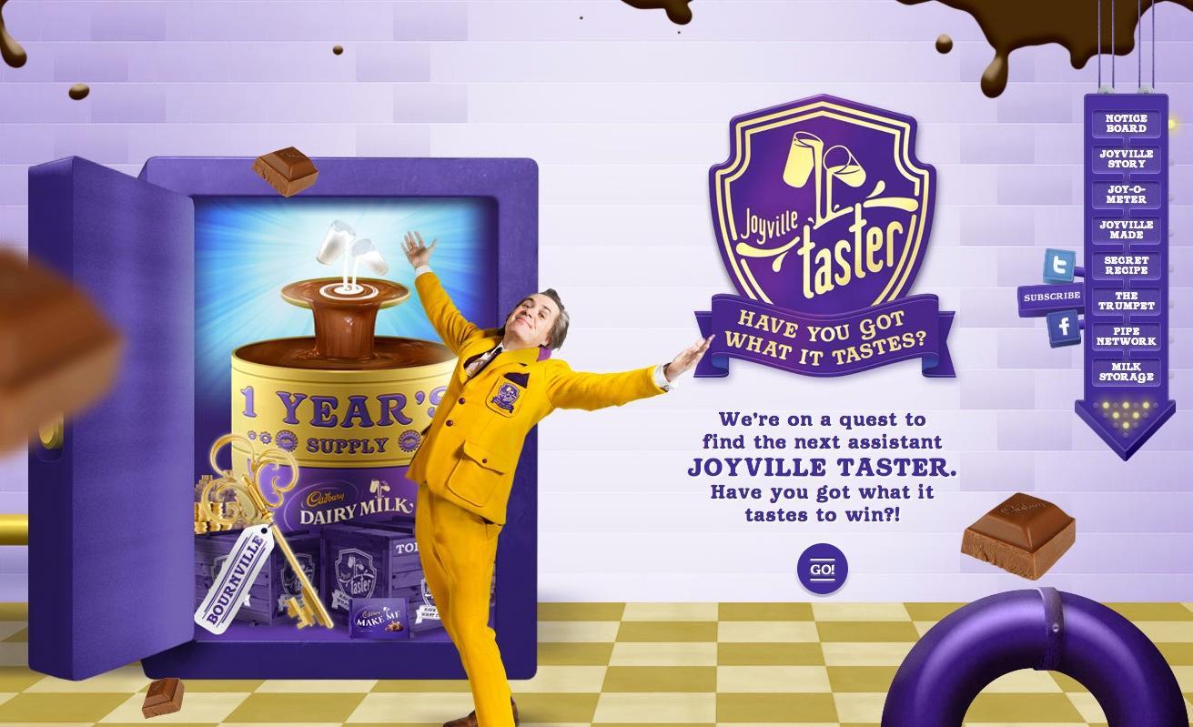 Cadbury Digital Ad -  Quest for the Joyville Taster