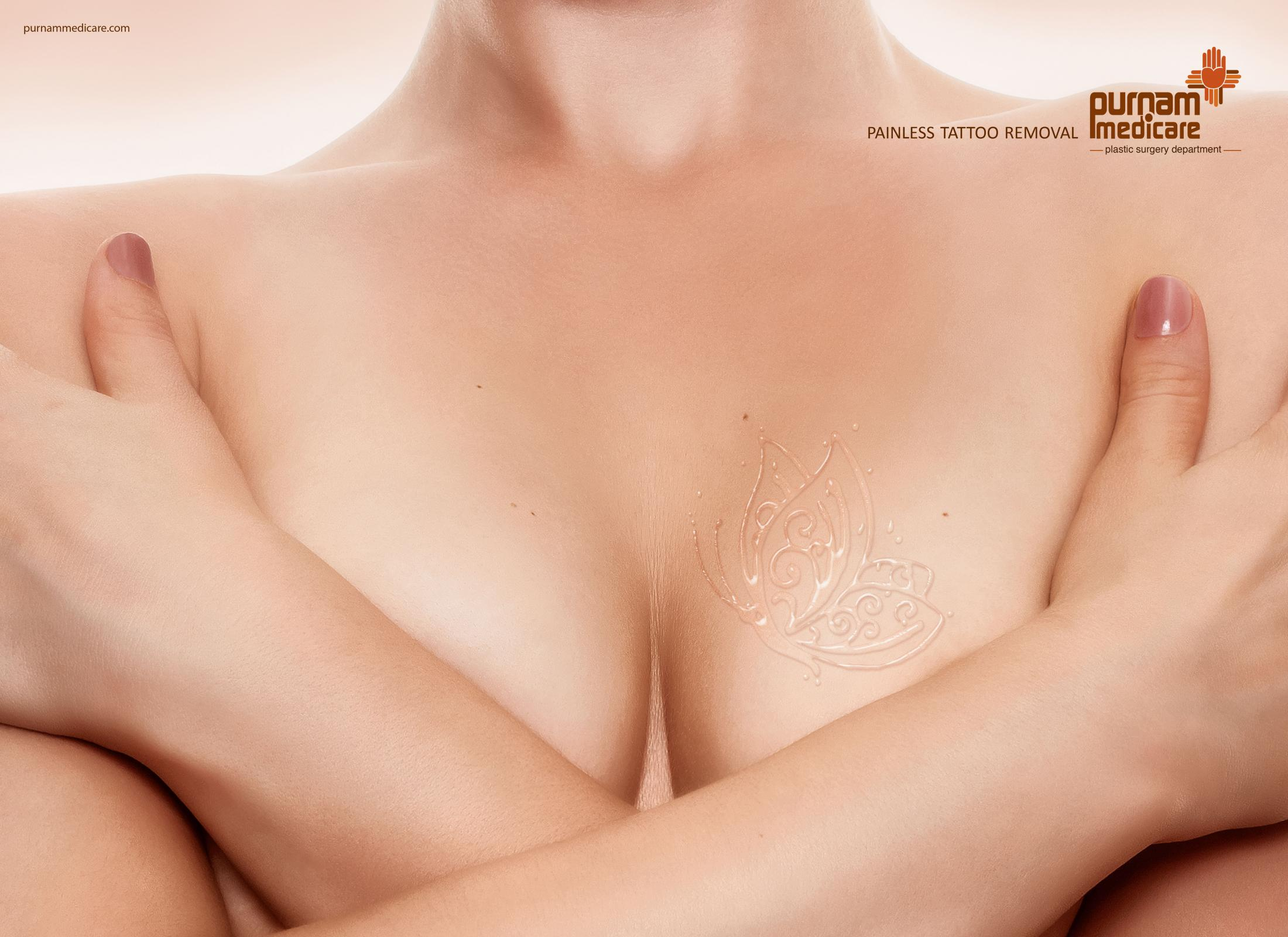 Purnam Medicare Print Ad - Tattoo - Butterfly