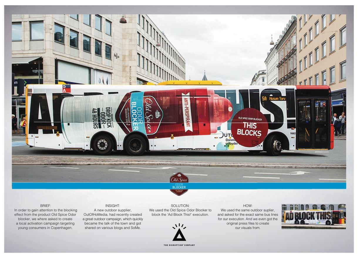 Old Spice Outdoor Ad - This Blocks!