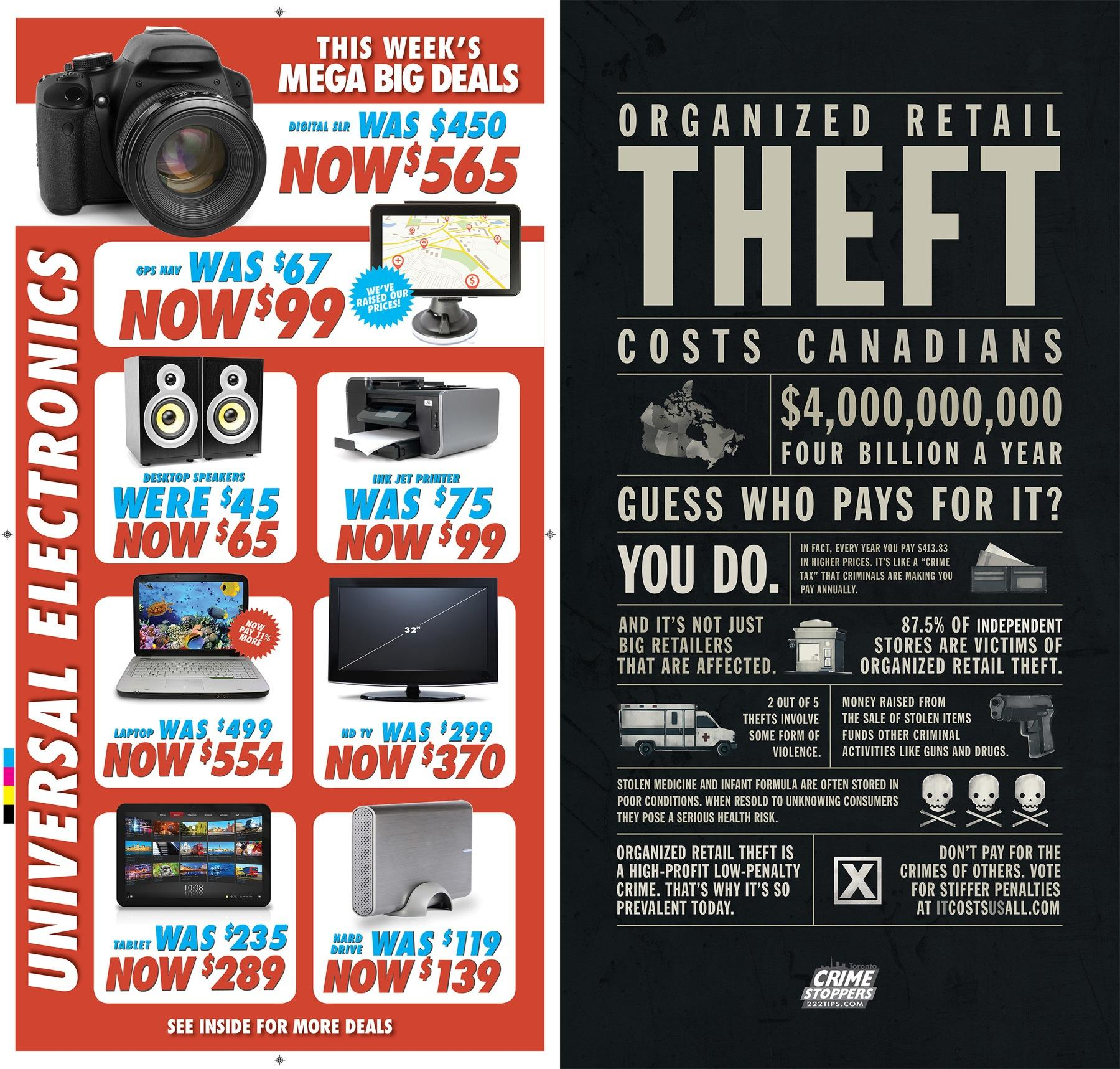 Toronto Crime Stoppers Direct Ad -  Universal