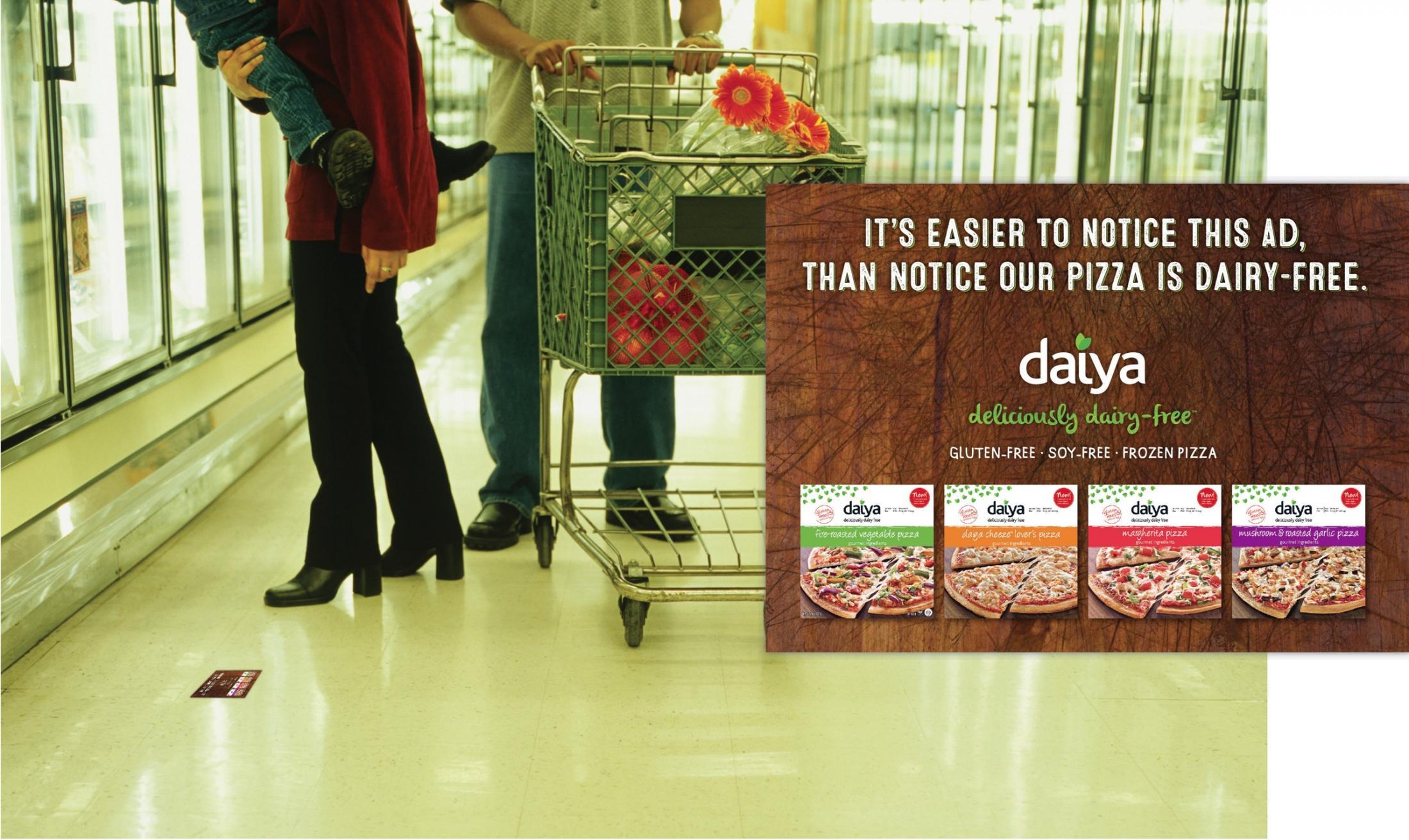 Daiya Foods Print Ad -  Hard to notice, 3