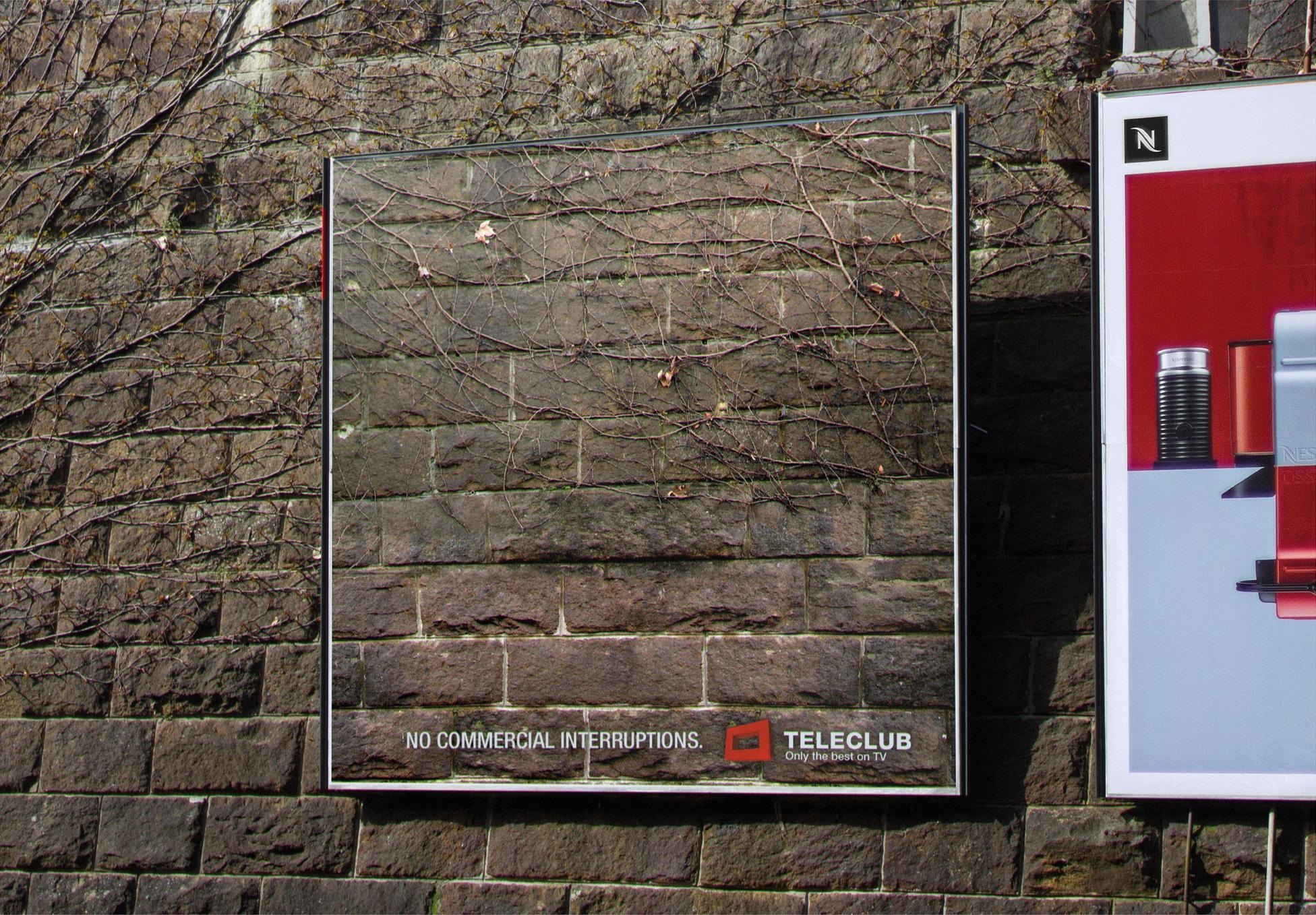 Teleclub Outdoor Ad -  Interruptions, 1