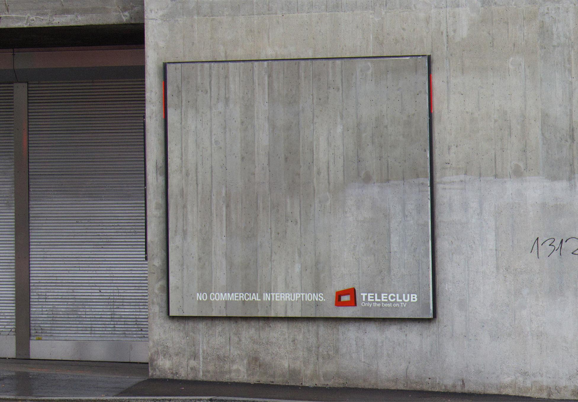 Teleclub Outdoor Ad -  Interruptions, 2