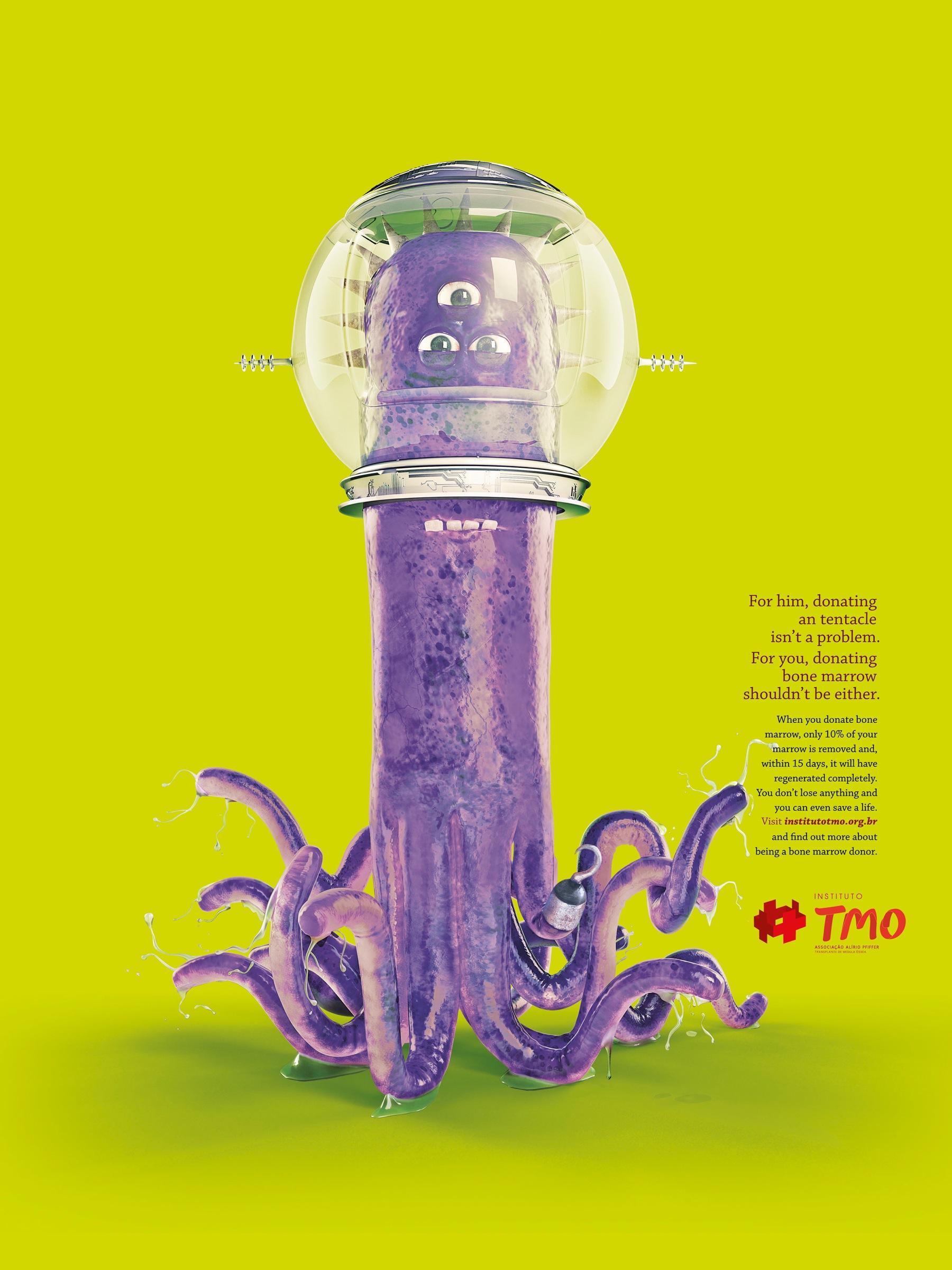 TMO Print Ad -  Tentacle
