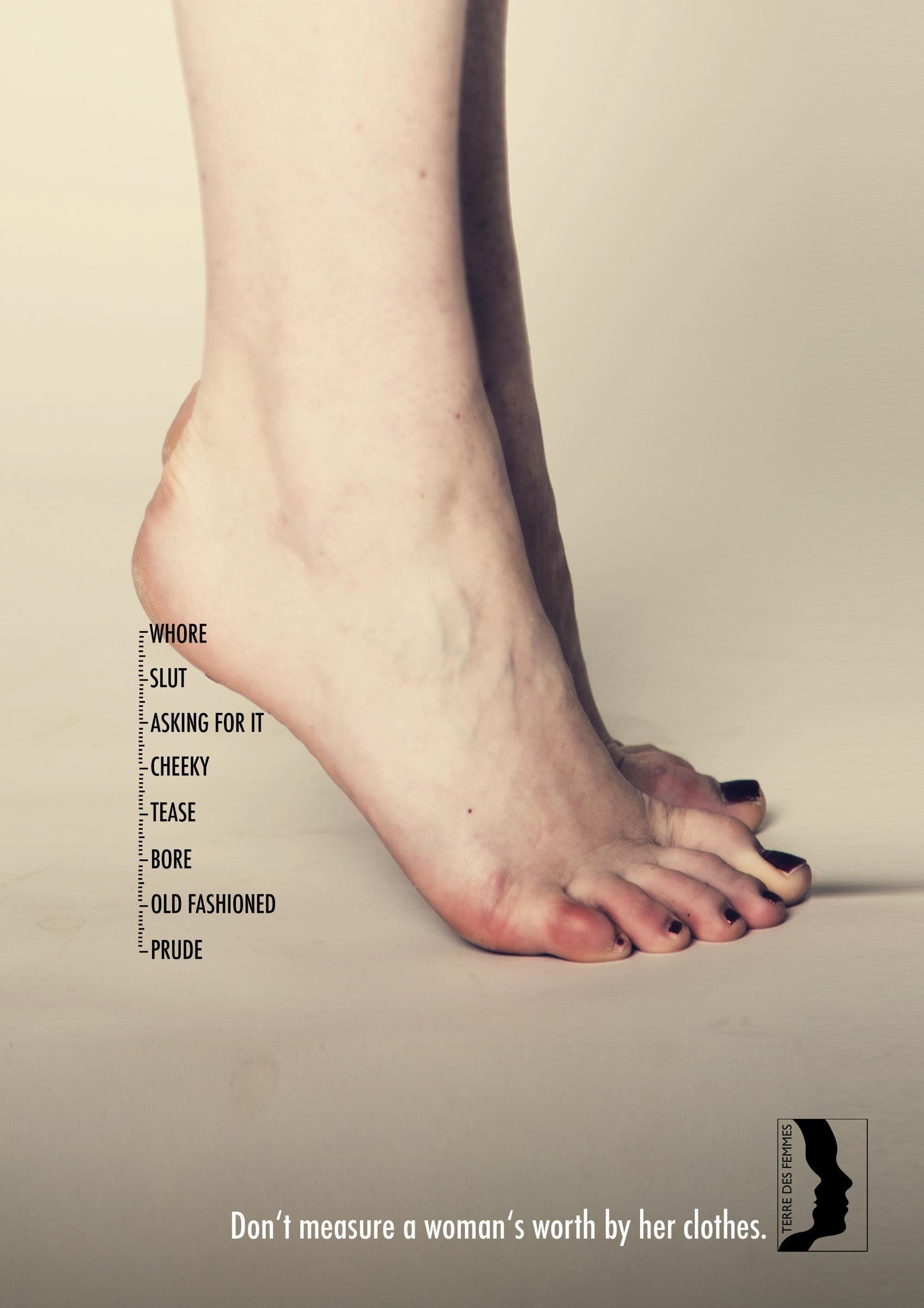 Terre Des Femmes Print Ad -  A woman's worth, 3