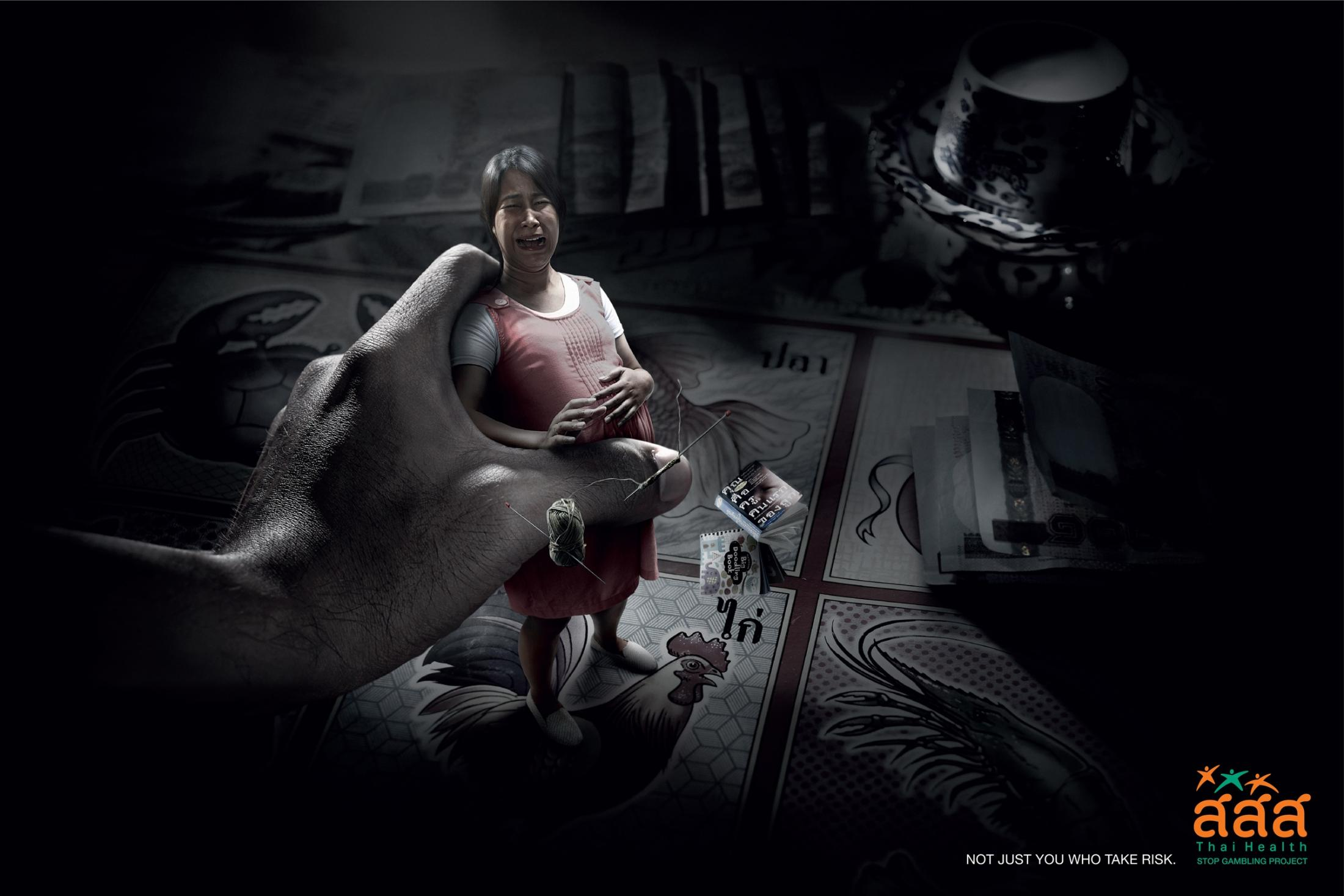Thai Health Promotion Foundation Print Ad -  High-Low
