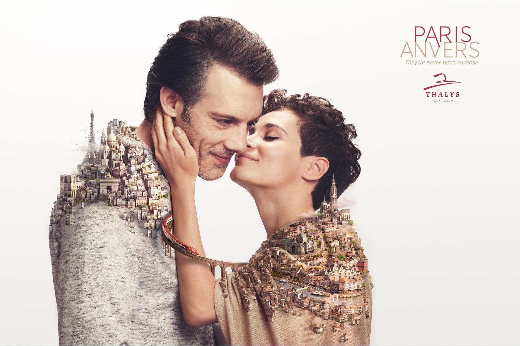 Thalys Print Ad -  Closer, 3