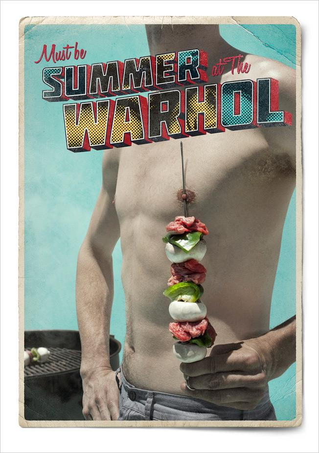The Andy Warhol Museum Print Ad -  Summer, 1