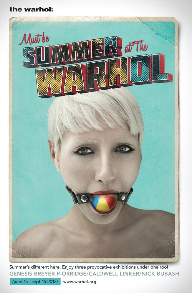 The Andy Warhol Museum Print Ad -  Summer, 2