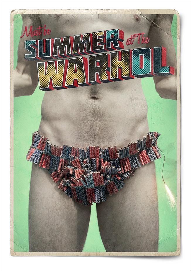 The Andy Warhol Museum Print Ad -  Summer, 3