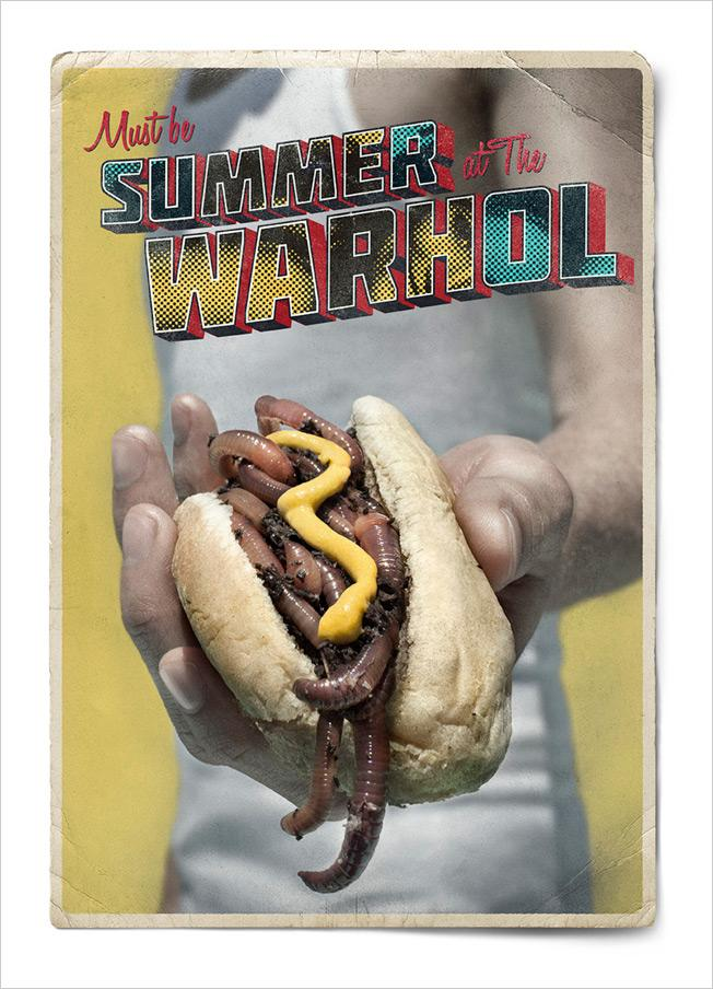 The Andy Warhol Museum Print Ad -  Summer, 4