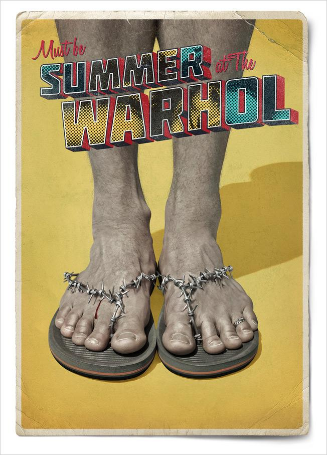 The Andy Warhol Museum Print Ad -  Summer, 5
