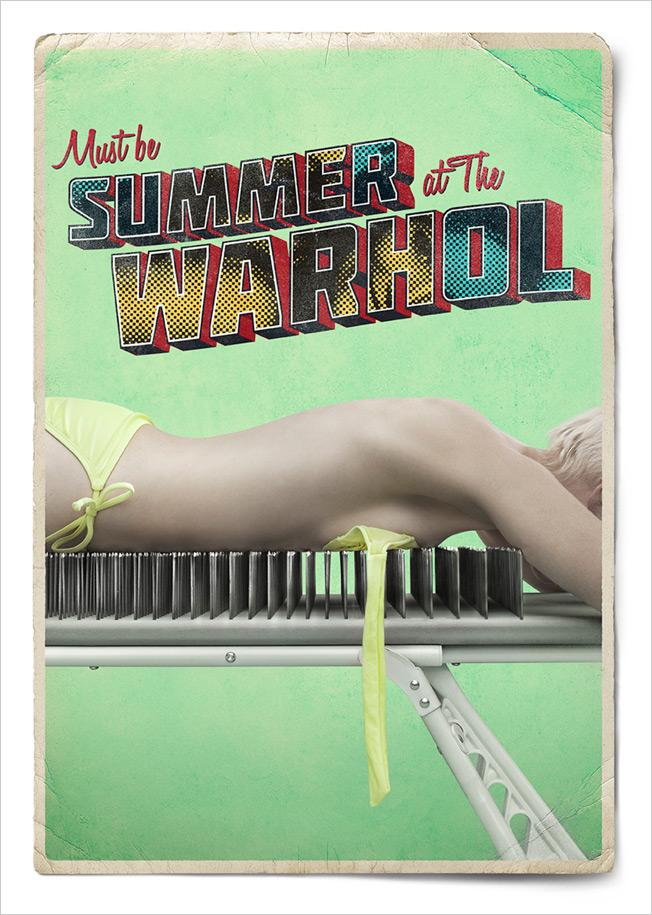 The Andy Warhol Museum Print Ad -  Summer, 6