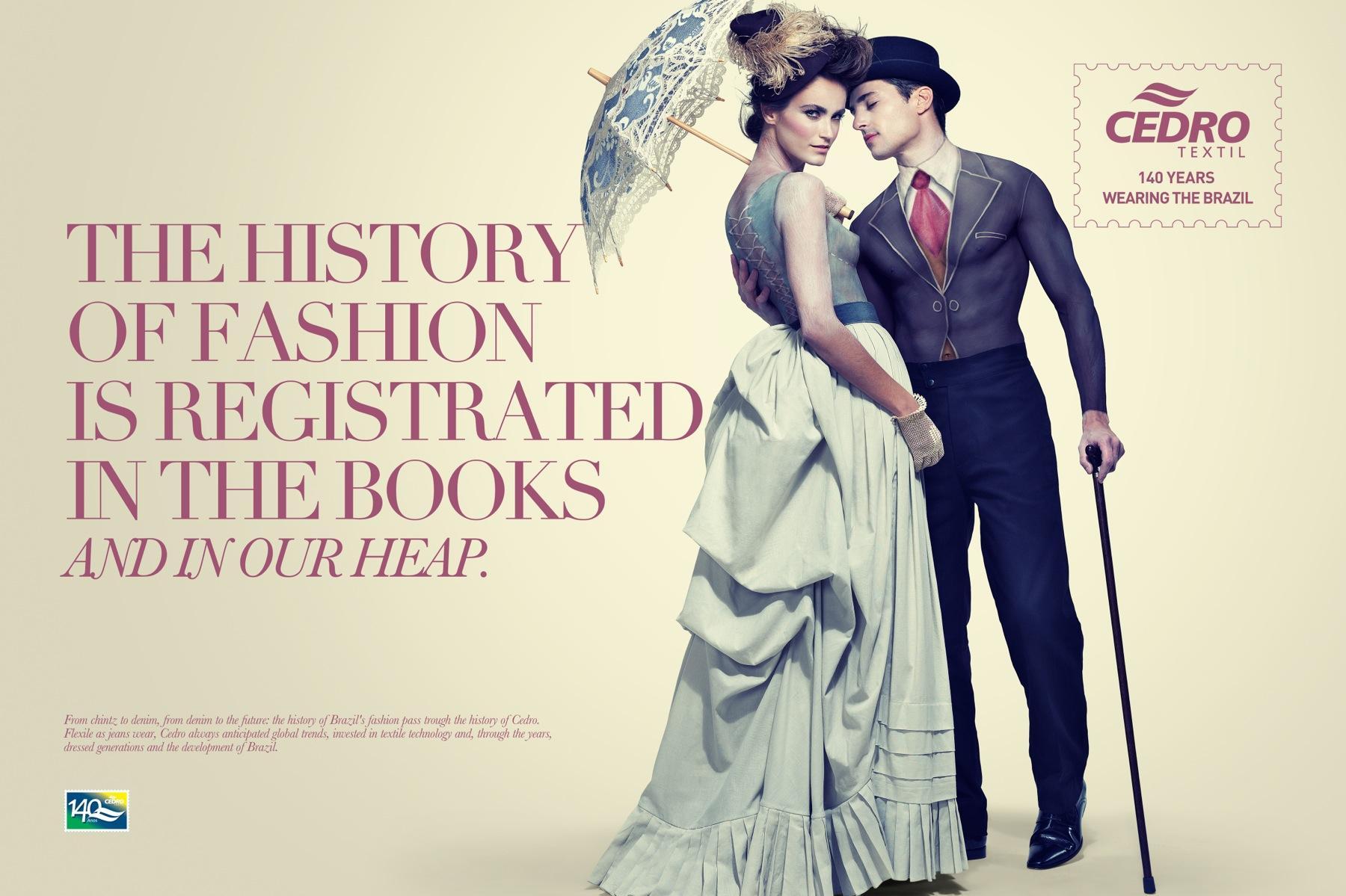 Cedro Textil Print Ad -  The 1910's