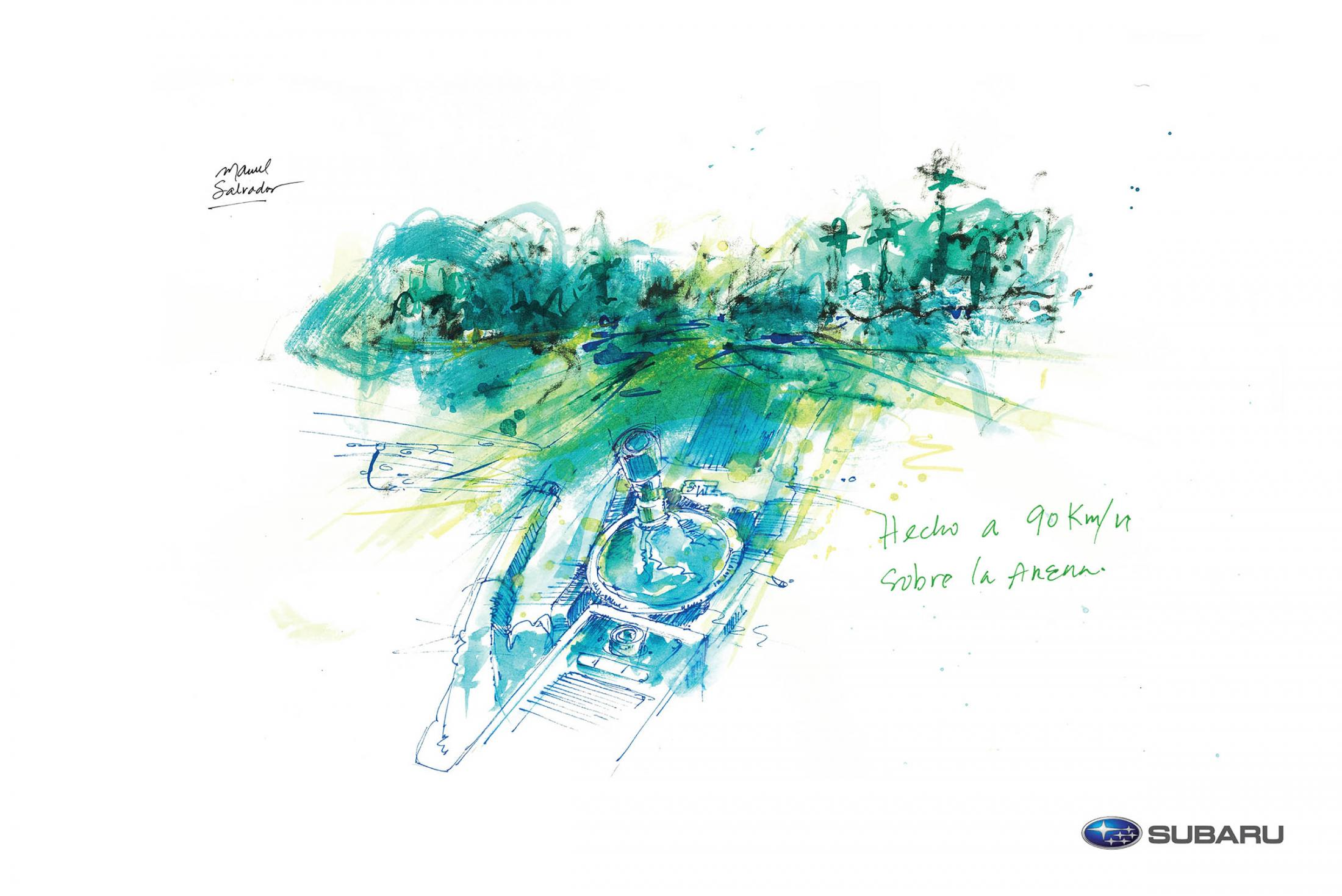 Subaru Experiential Ad - The Art Of Driving