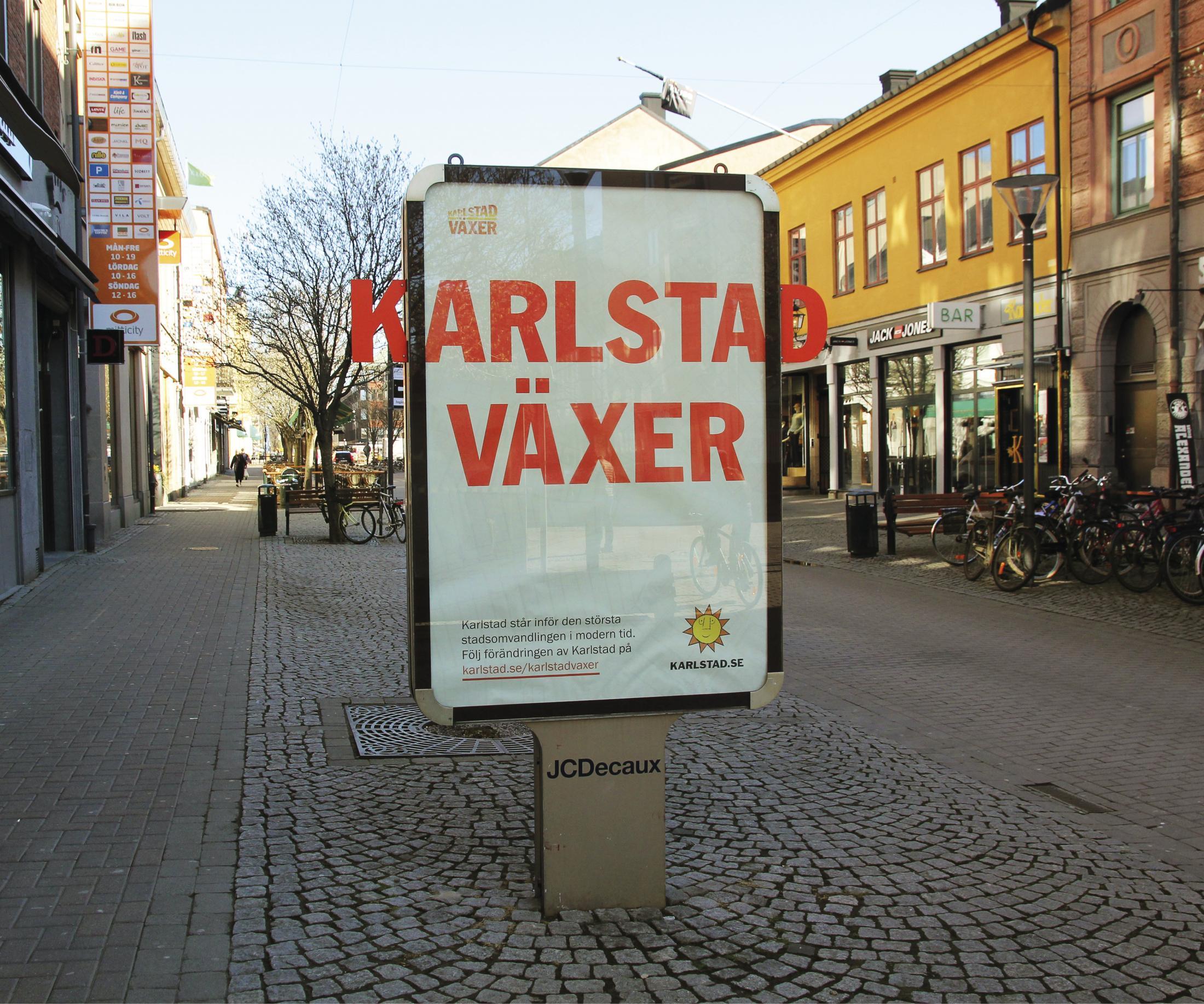 City Of Karlstad Outdoor Ad - City Of Karlstad Grows