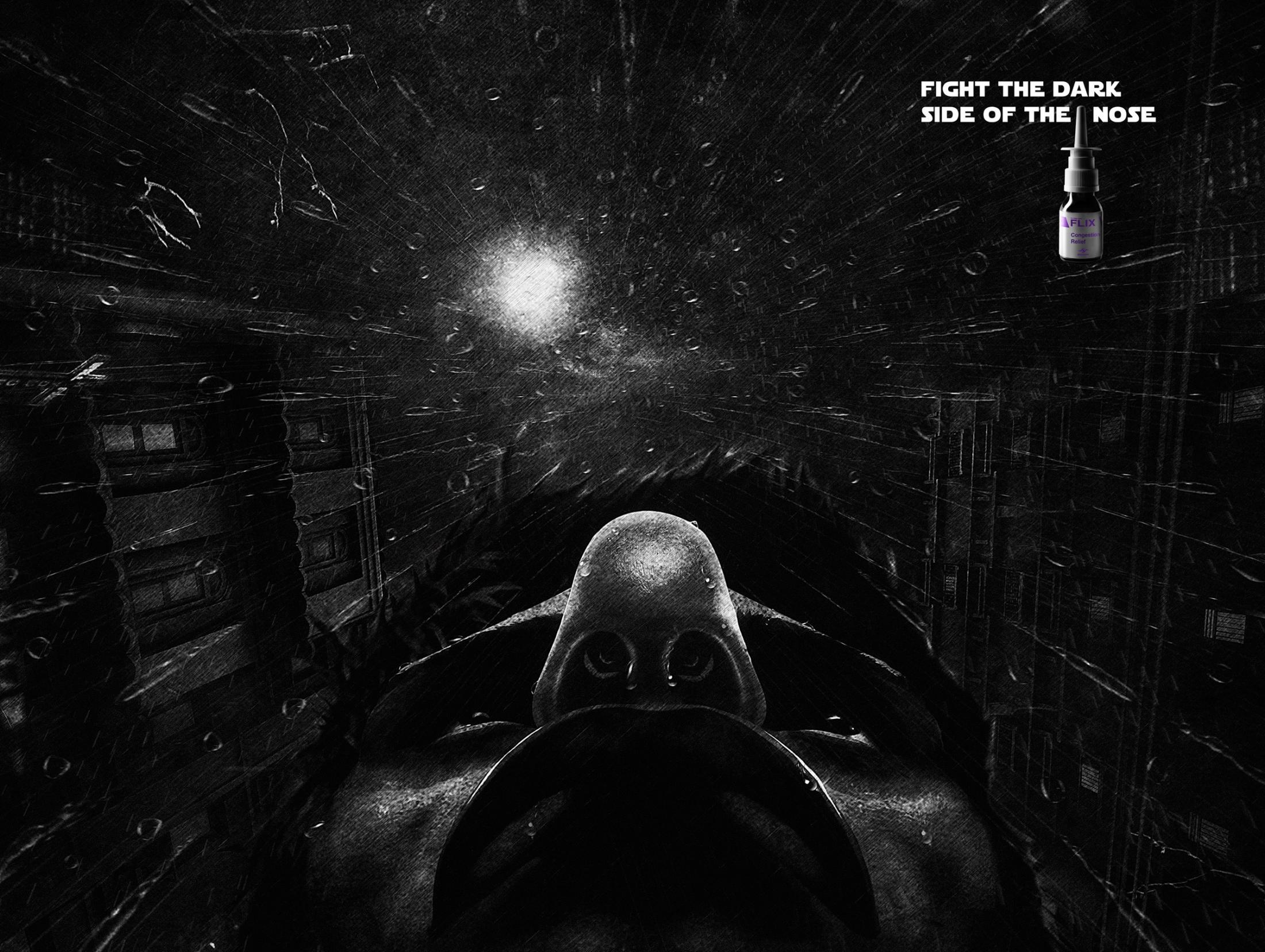 Flix Print Ad -  The dark side
