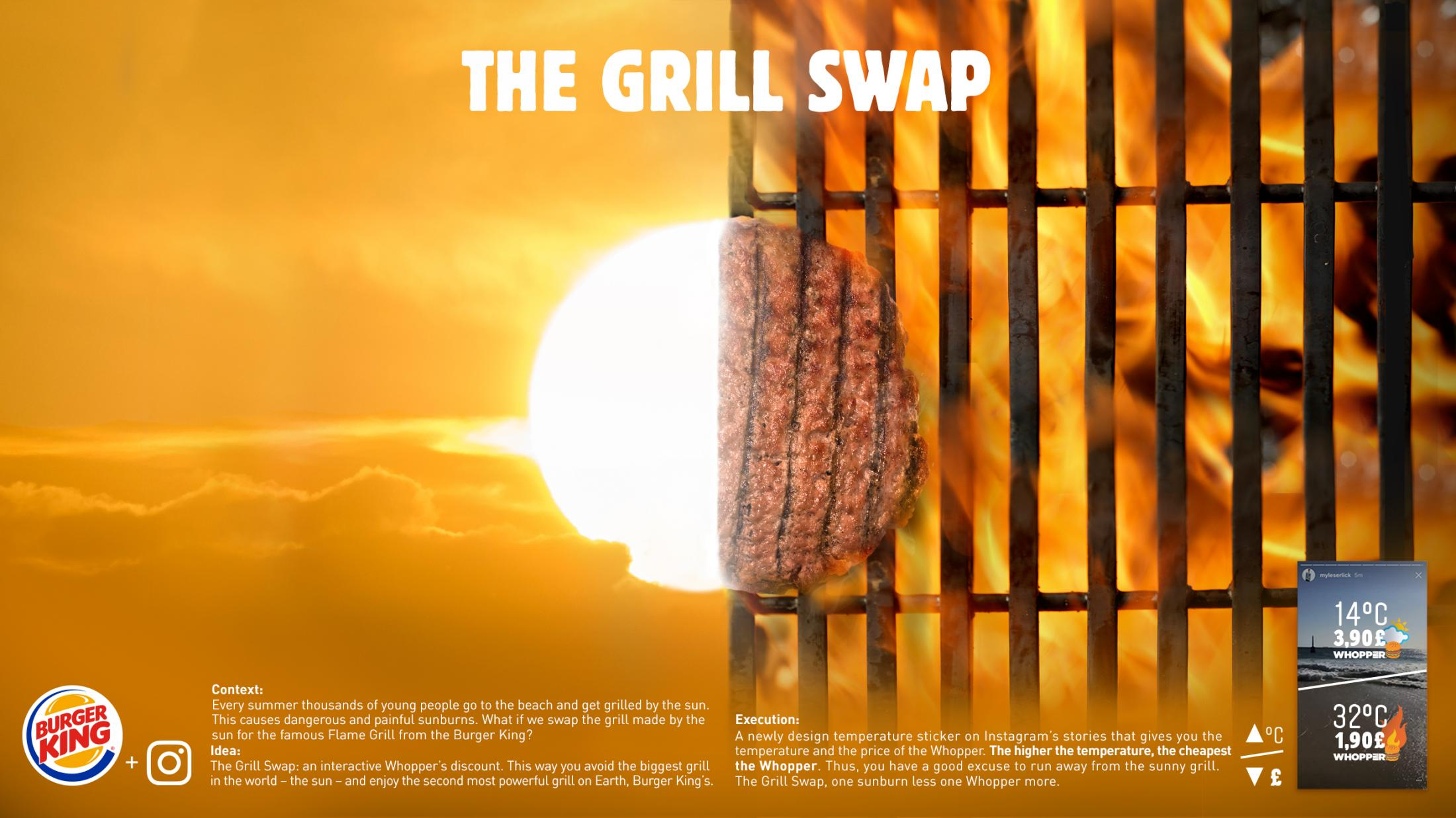 Burger King Digital Ad - The Grill Swap