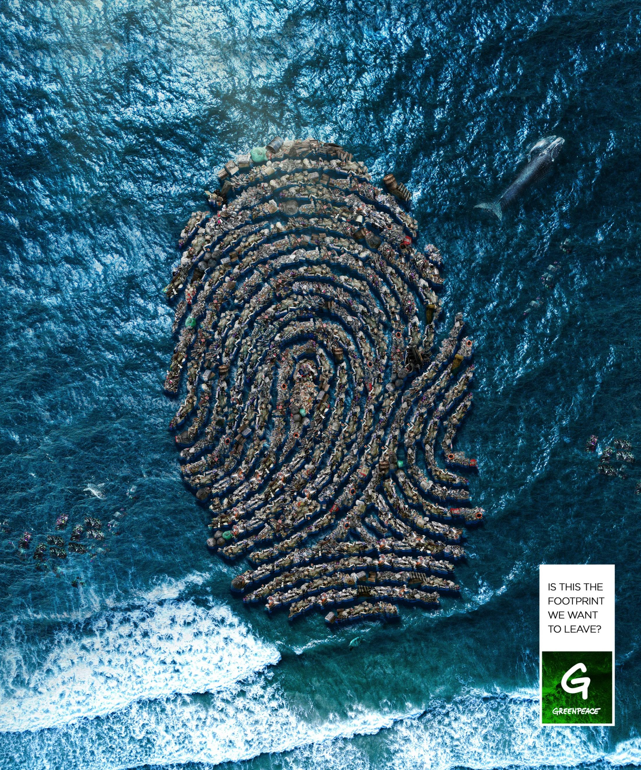 Greenpeace Print Ad - The Pollution Footprint, 3