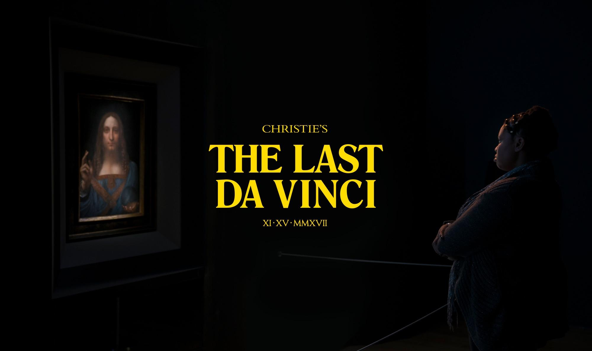 Christie's Film Ad - The Last da Vinci