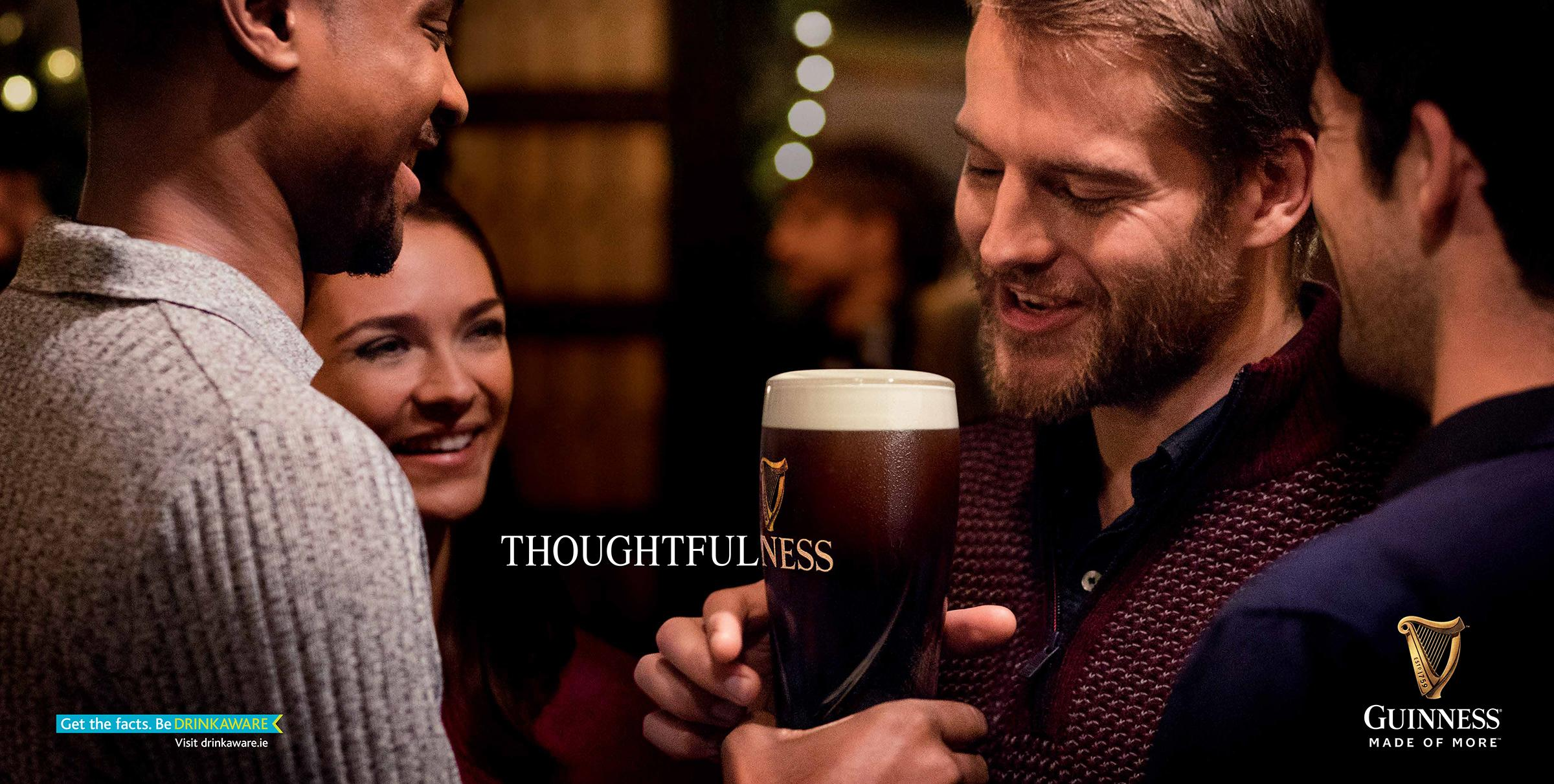 Guinness Print Ad - Thoughtfulness