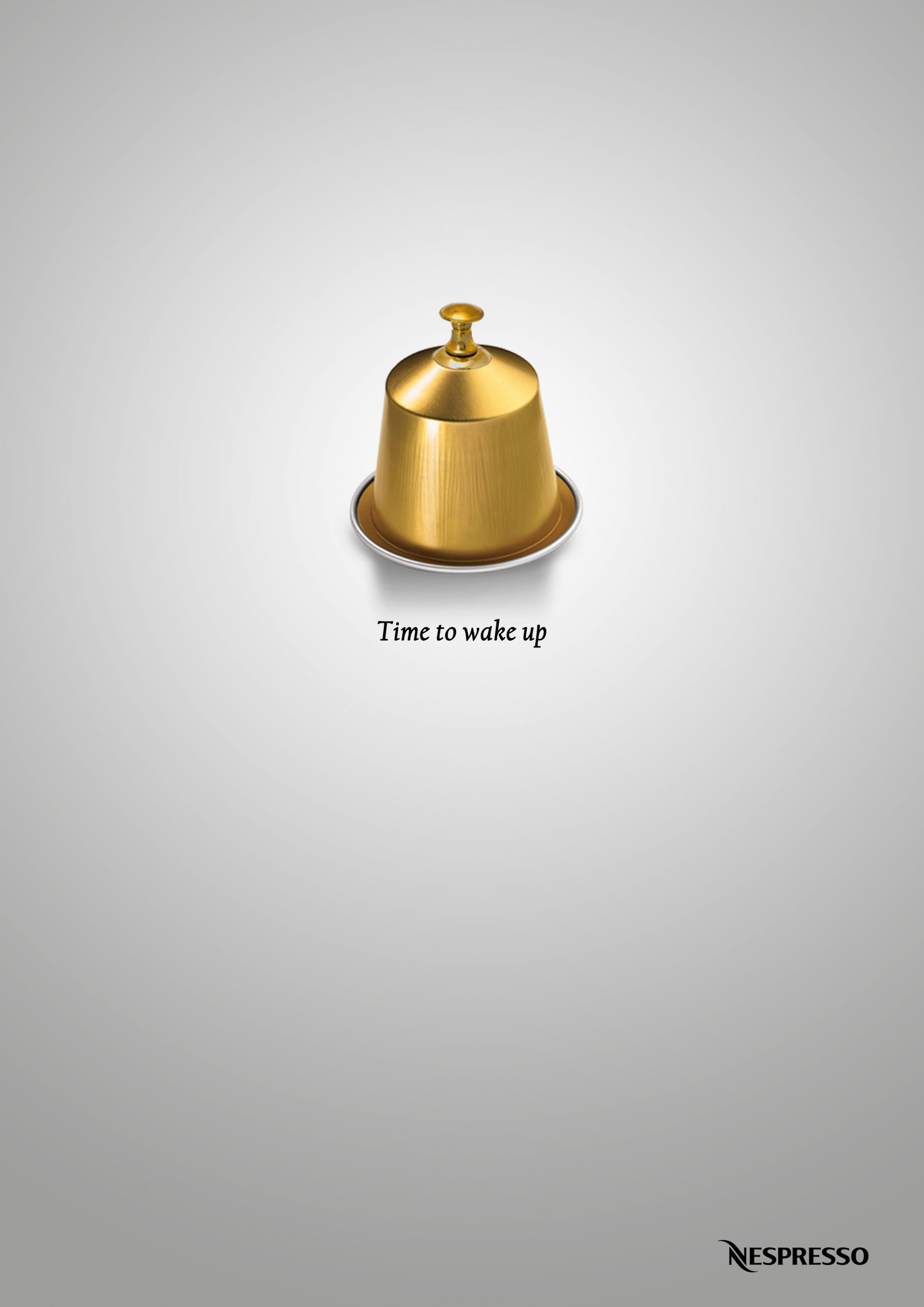 Nespresso Print Ad - Time to wake up