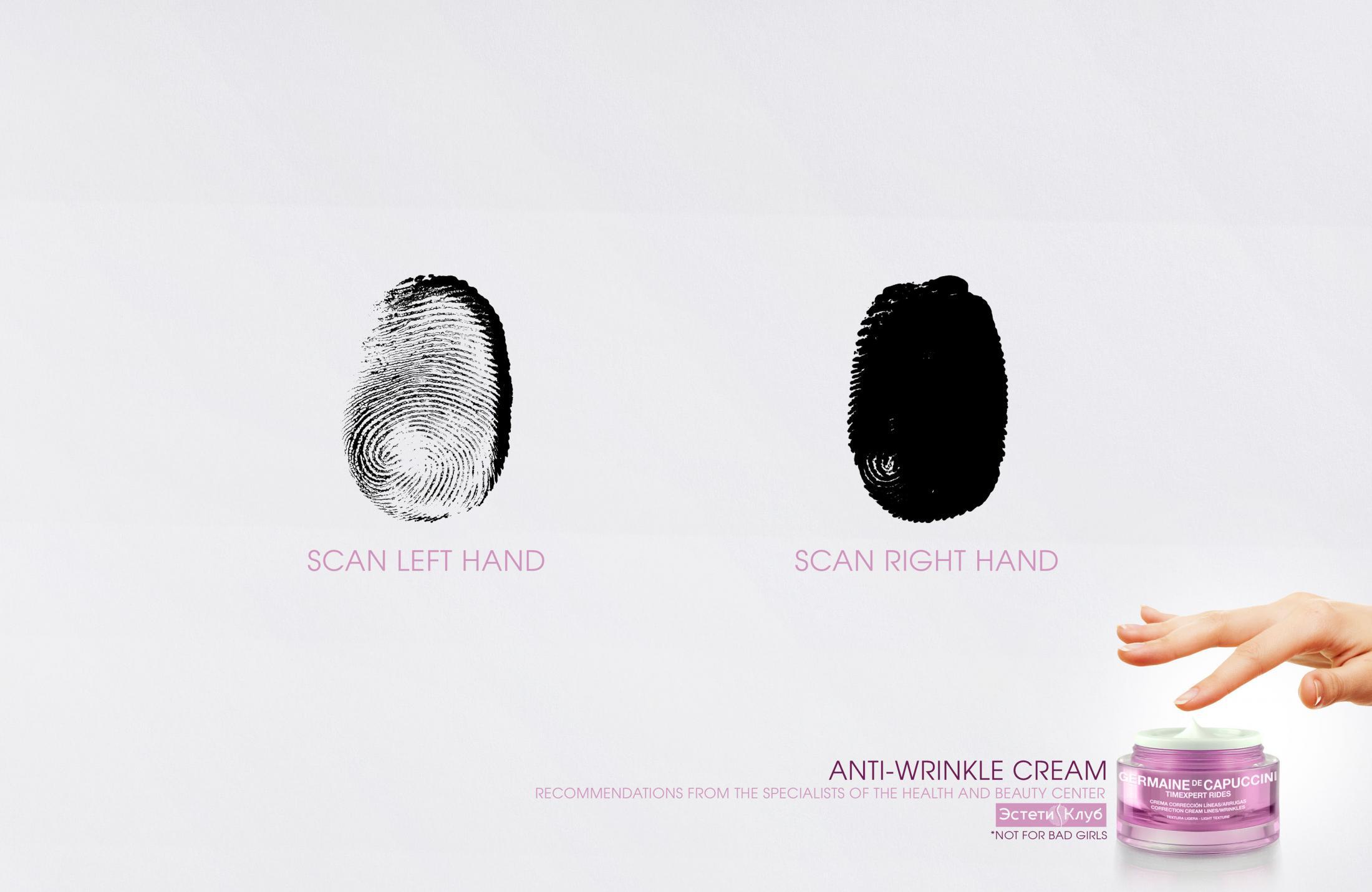 EstetiClub Print Ad - Anti-wrinkle Cream