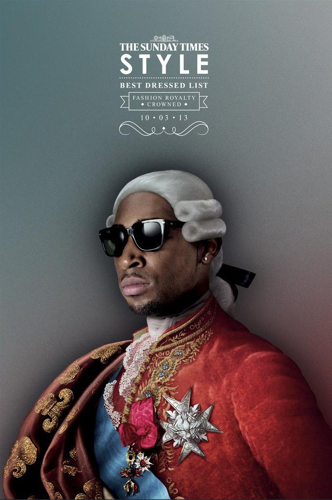 The Sunday Times Print Ad -  Fashion Royalty Tinie