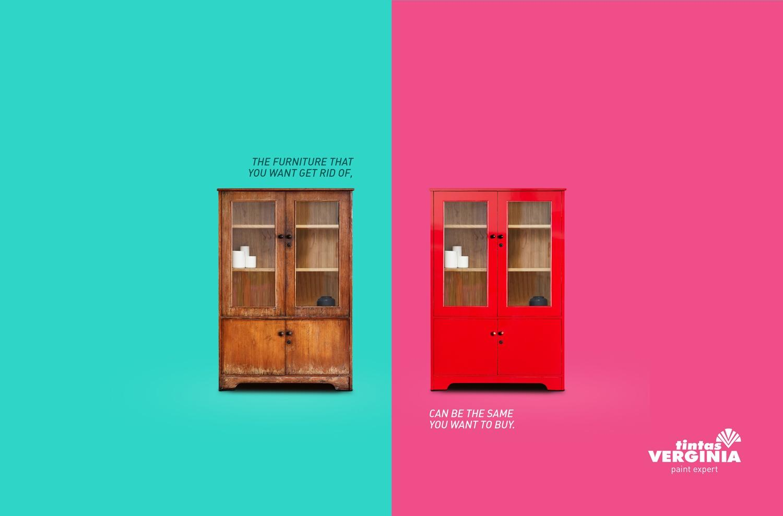 Tintas Verginia Print Ad -  Cupboard